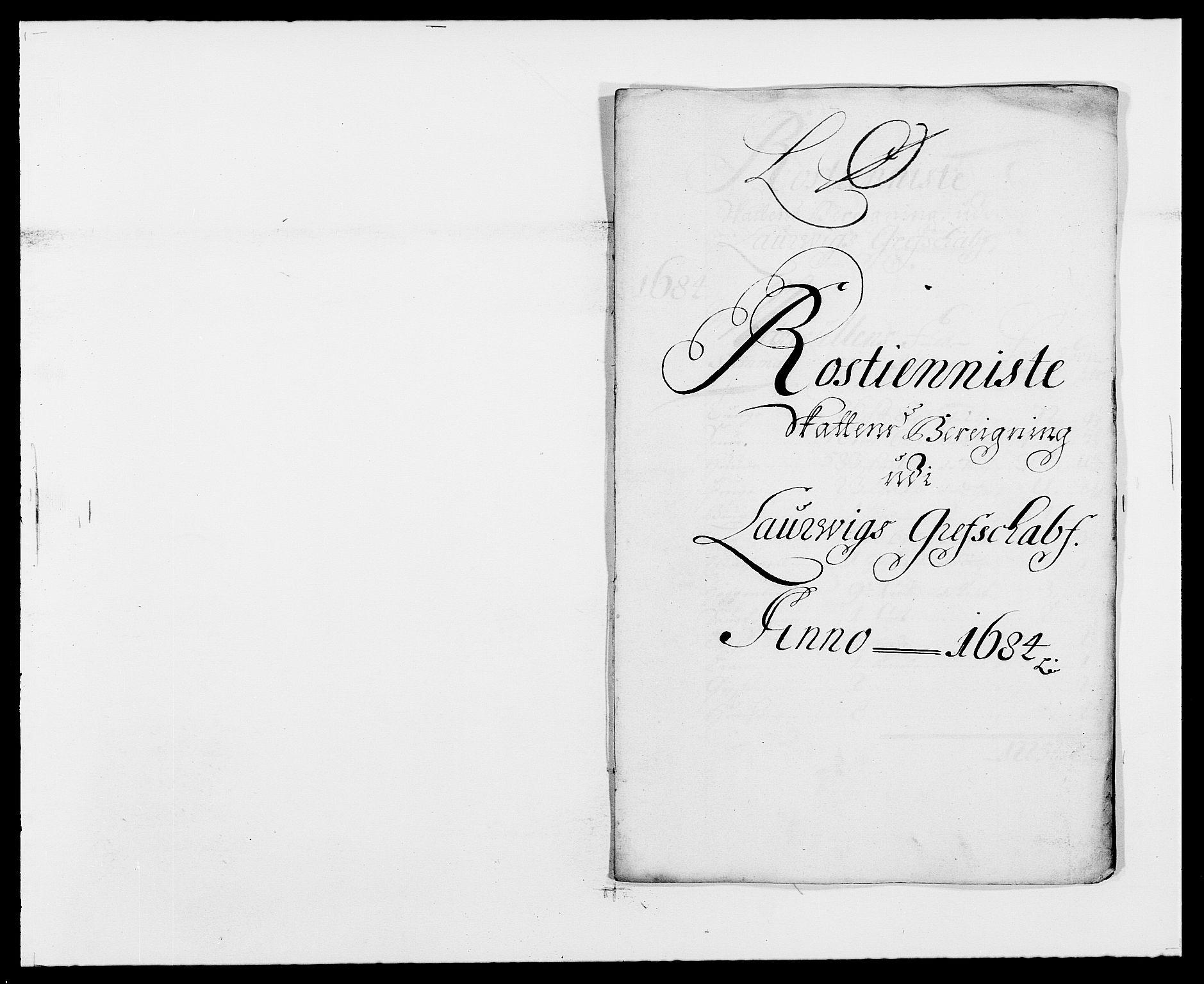 RA, Rentekammeret inntil 1814, Reviderte regnskaper, Fogderegnskap, R33/L1969: Fogderegnskap Larvik grevskap, 1675-1687, s. 433