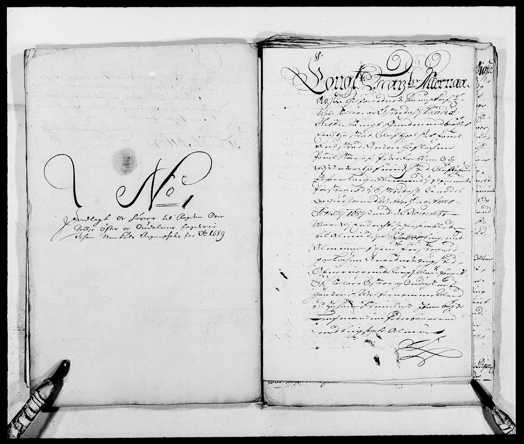 RA, Rentekammeret inntil 1814, Reviderte regnskaper, Fogderegnskap, R13/L0827: Fogderegnskap Solør, Odal og Østerdal, 1689, s. 362