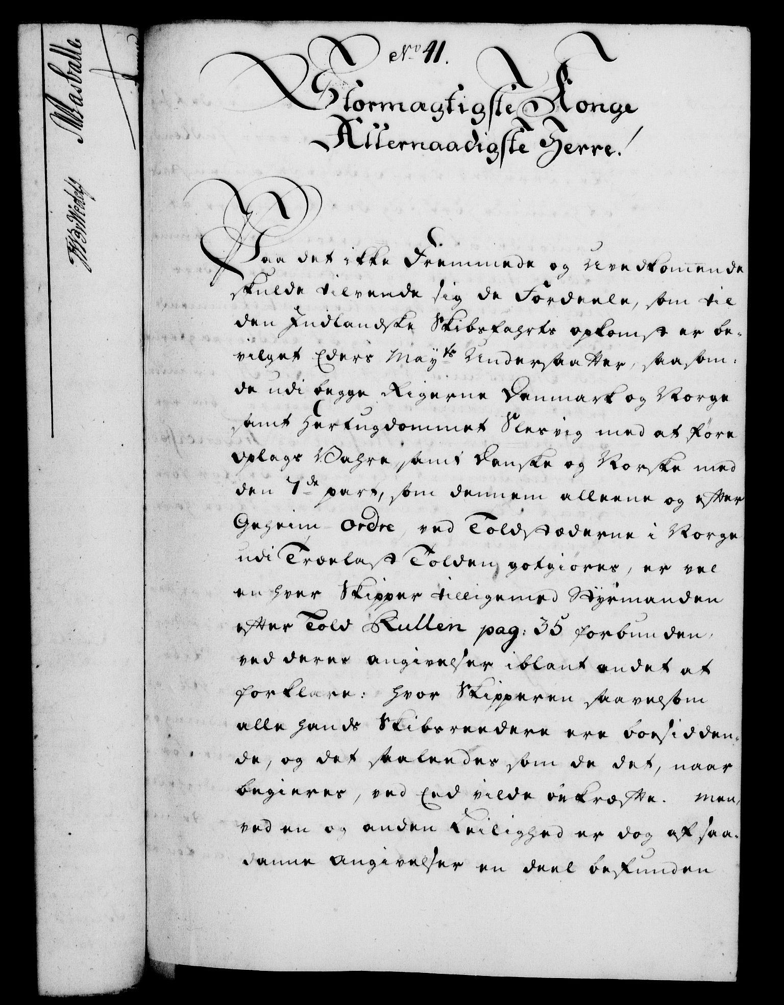 RA, Rentekammeret, Kammerkanselliet, G/Gf/Gfa/L0037: Norsk relasjons- og resolusjonsprotokoll (merket RK 52.37), 1755, s. 239