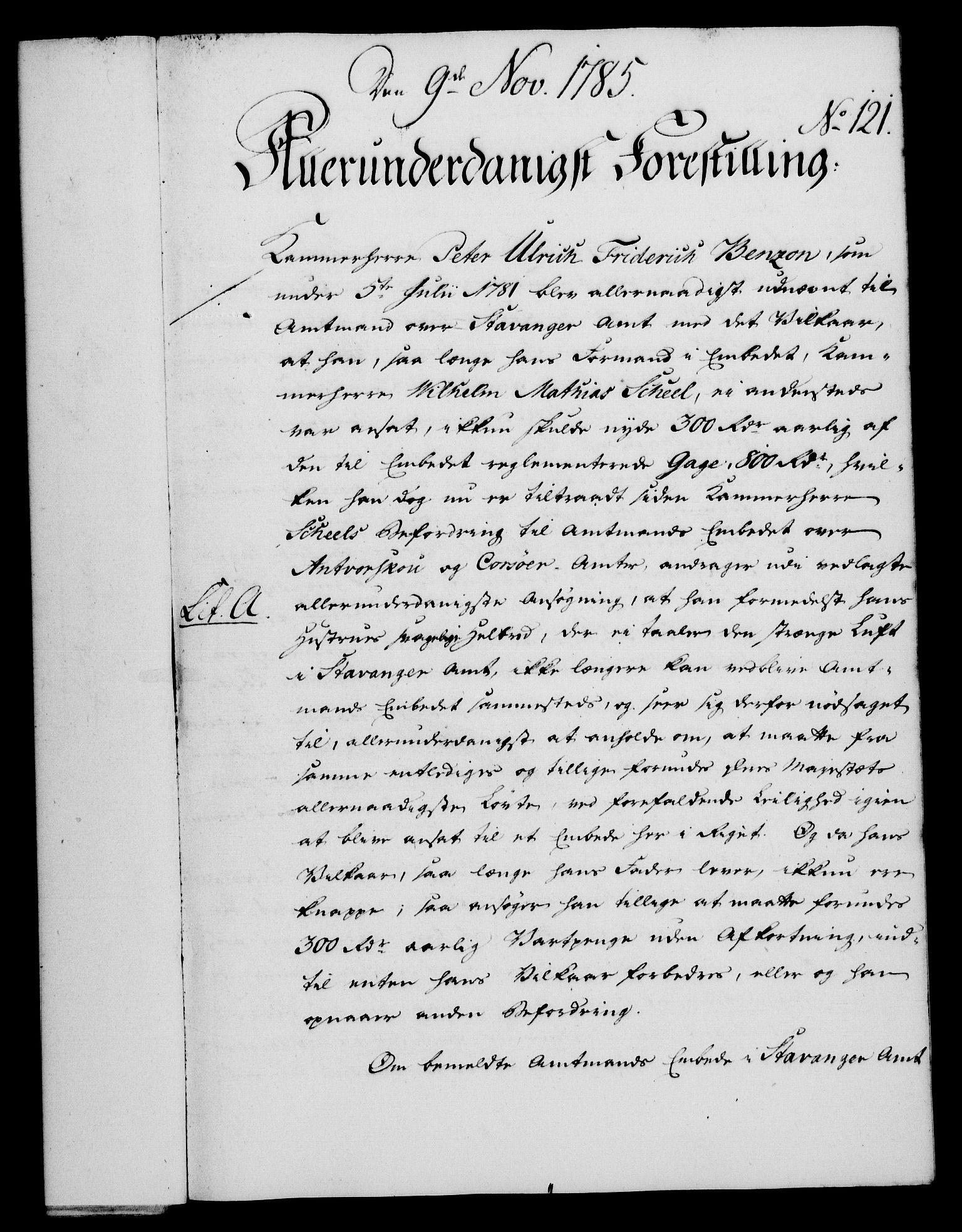 RA, Rentekammeret, Kammerkanselliet, G/Gf/Gfa/L0067: Norsk relasjons- og resolusjonsprotokoll (merket RK 52.67), 1785, s. 914
