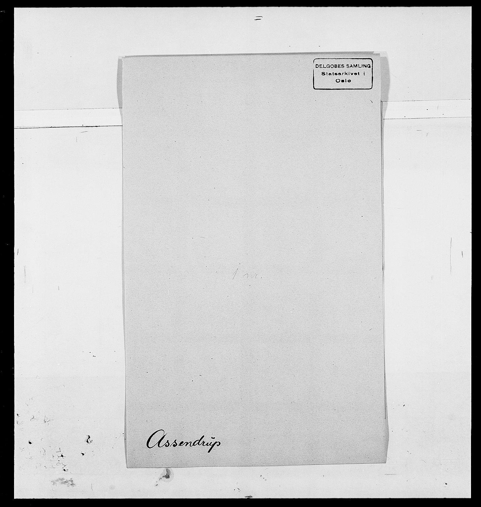SAO, Delgobe, Charles Antoine - samling, D/Da/L0002: Anker, Ancher - Bauner, s. 461