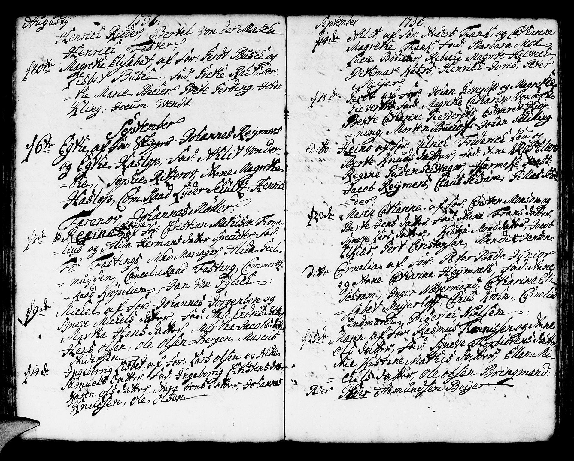 SAB, Korskirken Sokneprestembete, H/Haa/L0004: Ministerialbok nr. A 4, 1720-1750, s. 169