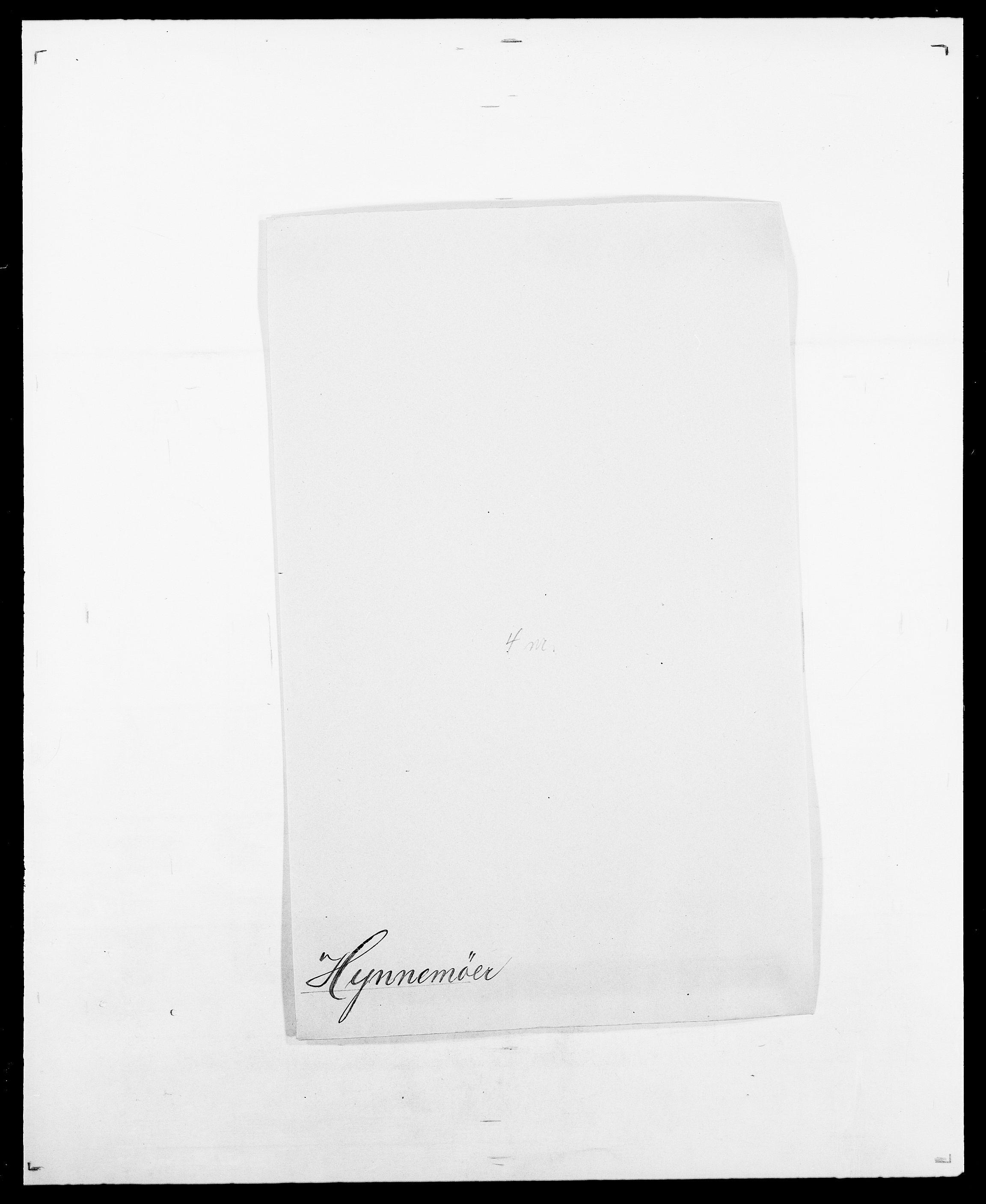 SAO, Delgobe, Charles Antoine - samling, D/Da/L0019: van der Hude - Joys, s. 284