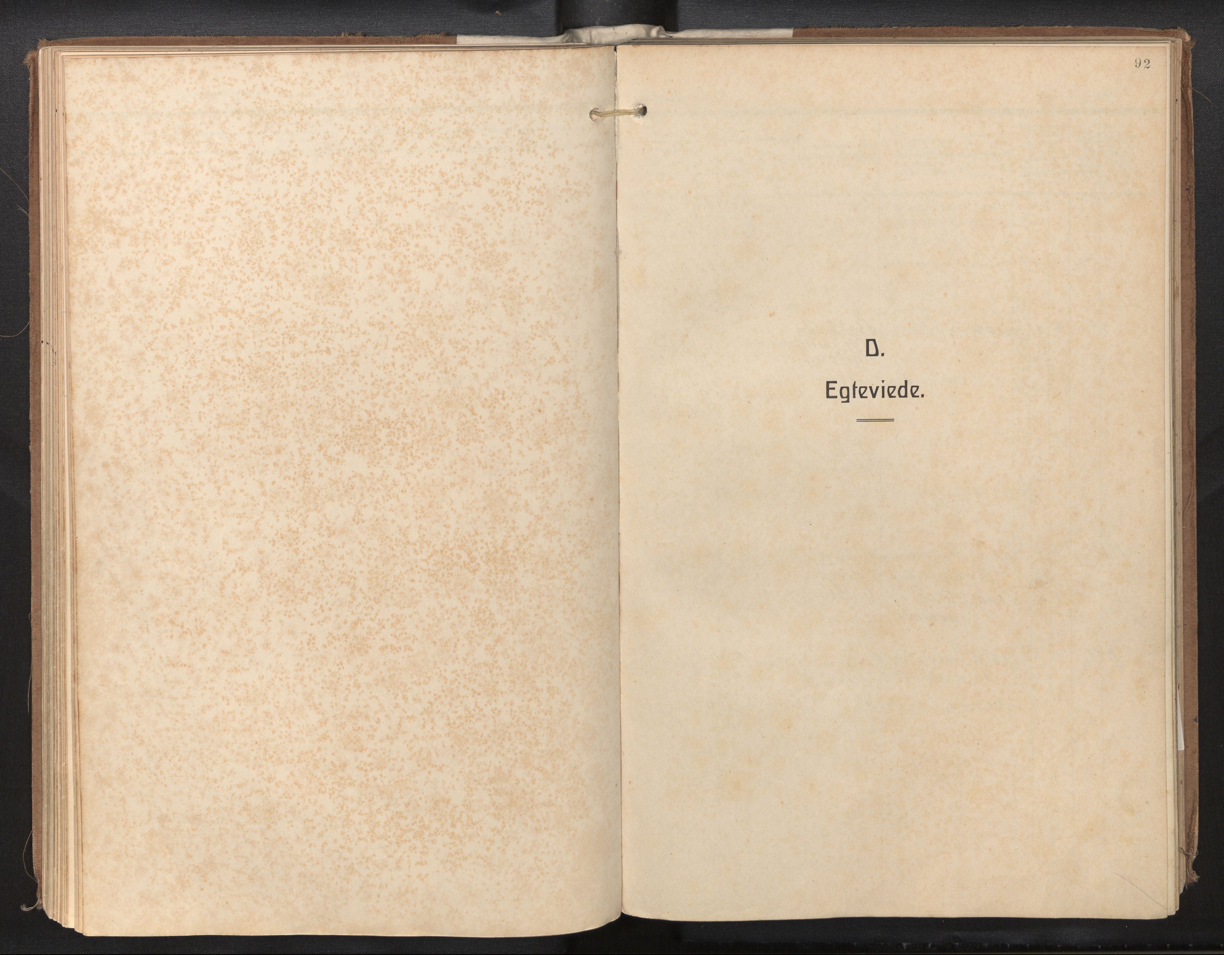 SAB, Privatarkiv 115 - Den norske sjømannsmisjon i utlandet/New Orleans-Mobile-Gulfhavnene, H/Ha/L0001: Ministerialbok nr. A 1, 1927-1978, s. 91b-92a