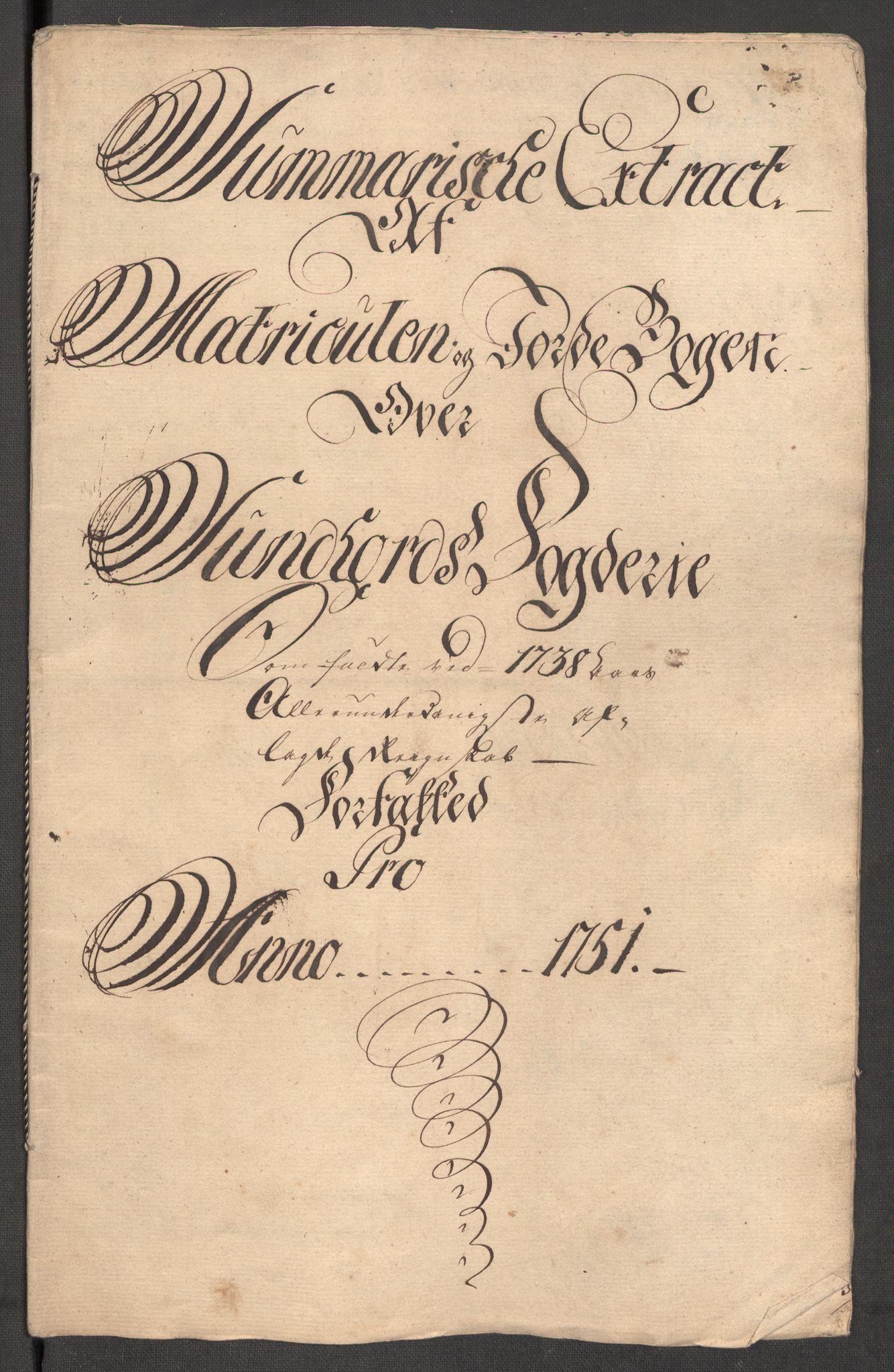 RA, Rentekammeret inntil 1814, Reviderte regnskaper, Fogderegnskap, R48/L3056: Fogderegnskap Sunnhordland og Hardanger, 1751, s. 82