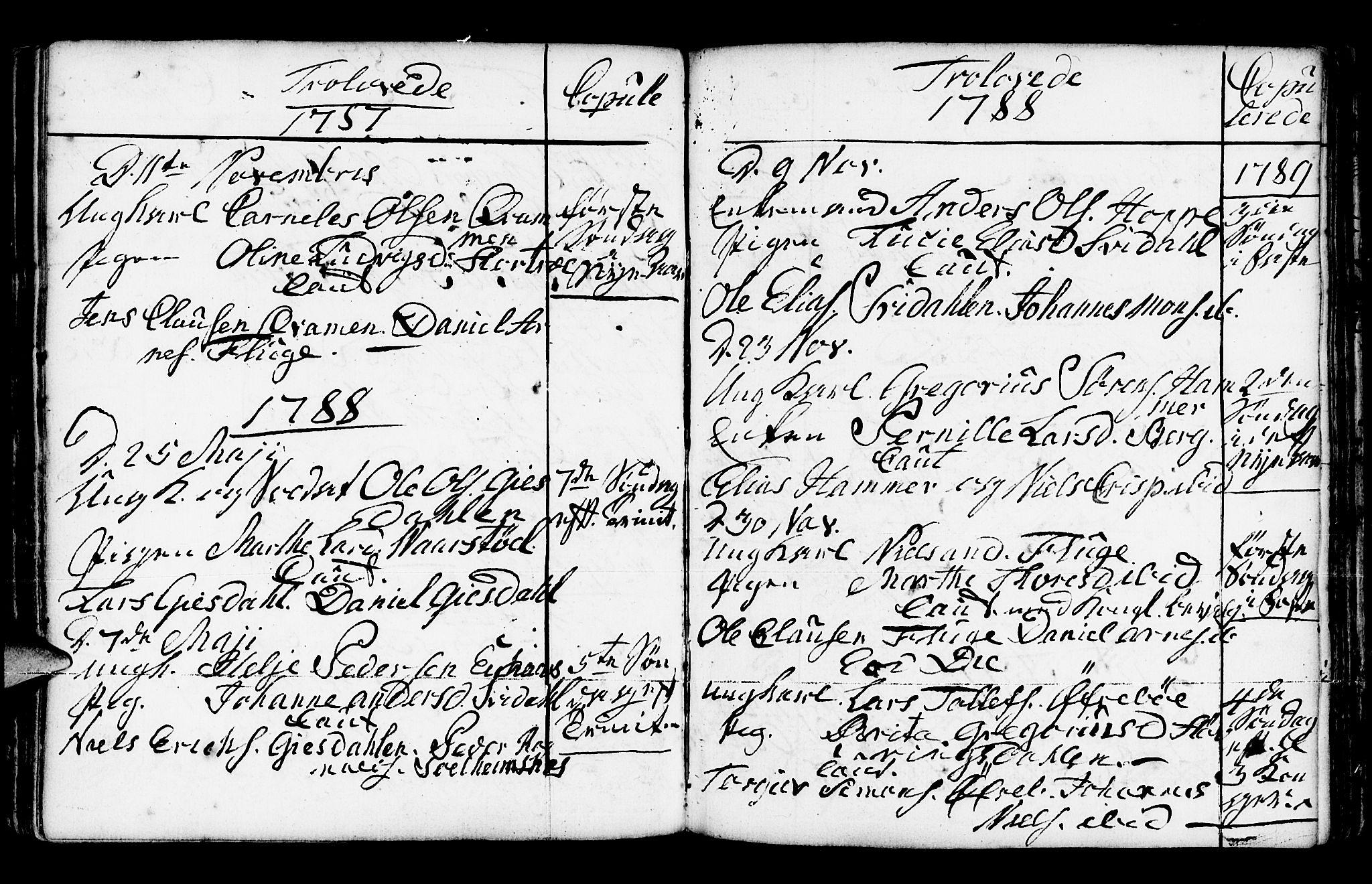 SAB, Jølster Sokneprestembete, Ministerialbok nr. A 3, 1748-1789, s. 190