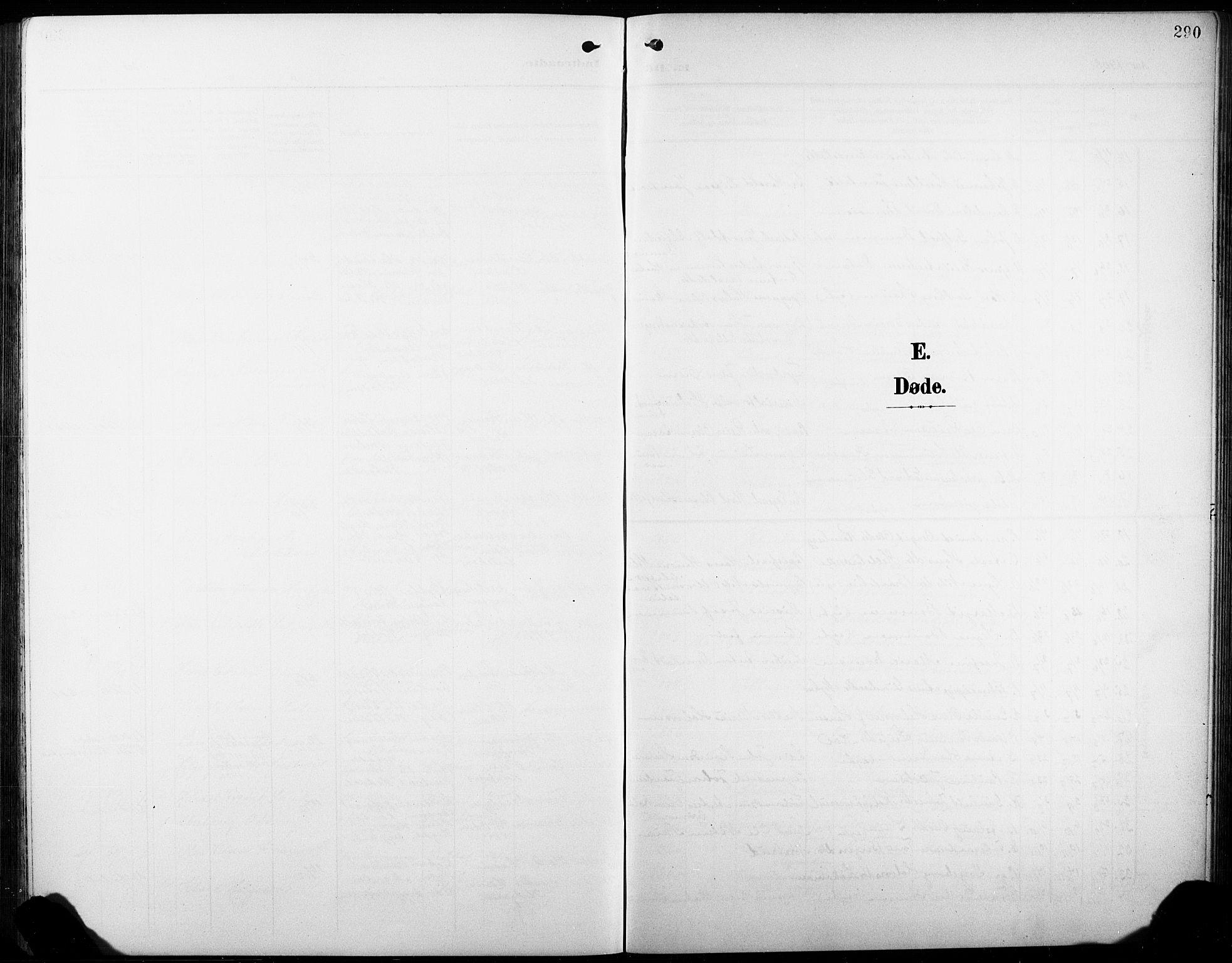 SAKO, Heddal kirkebøker, G/Ga/L0003: Klokkerbok nr. I 3, 1908-1932, s. 290