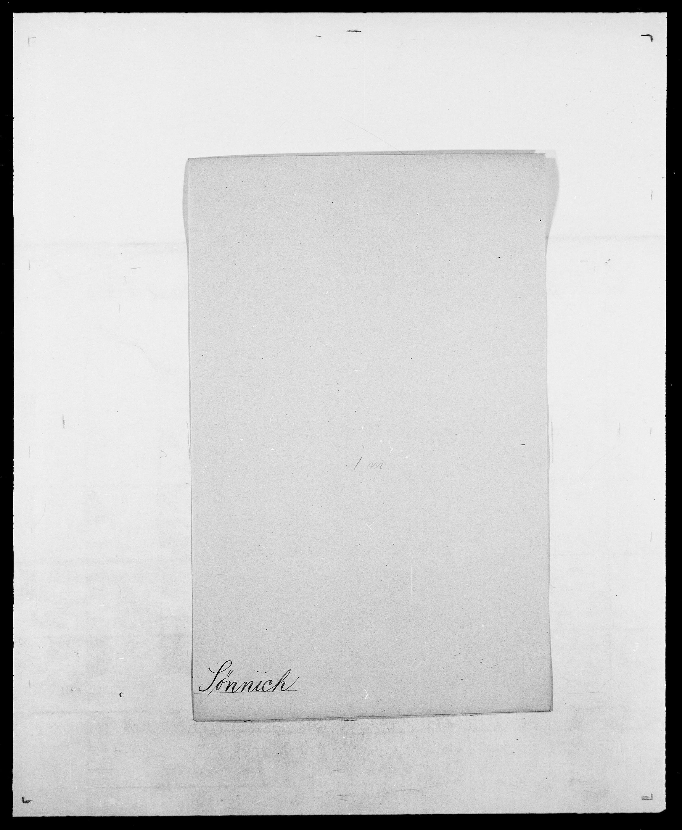 SAO, Delgobe, Charles Antoine - samling, D/Da/L0038: Svanenskjold - Thornsohn, s. 188