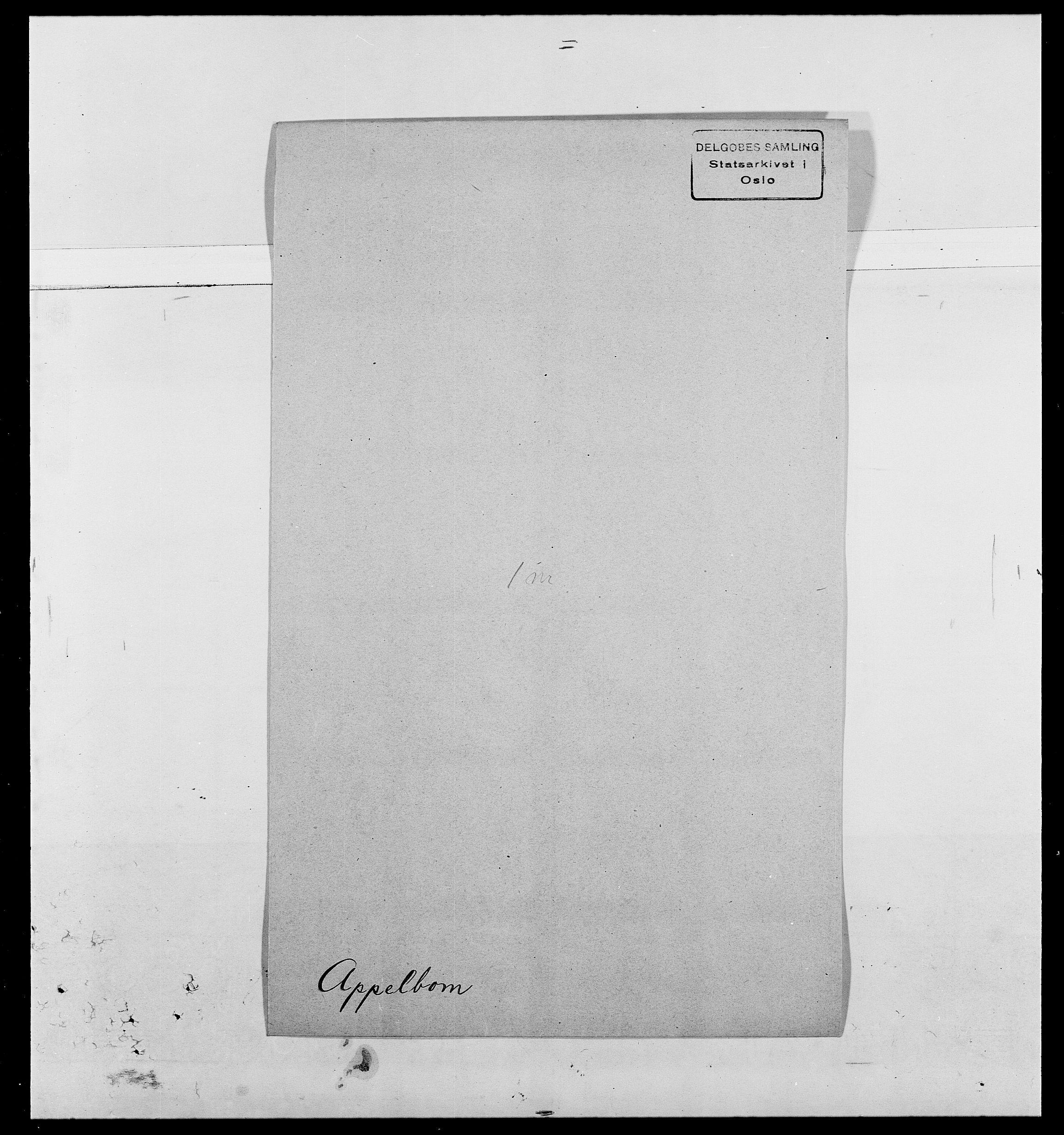 SAO, Delgobe, Charles Antoine - samling, D/Da/L0002: Anker, Ancher - Bauner, s. 213