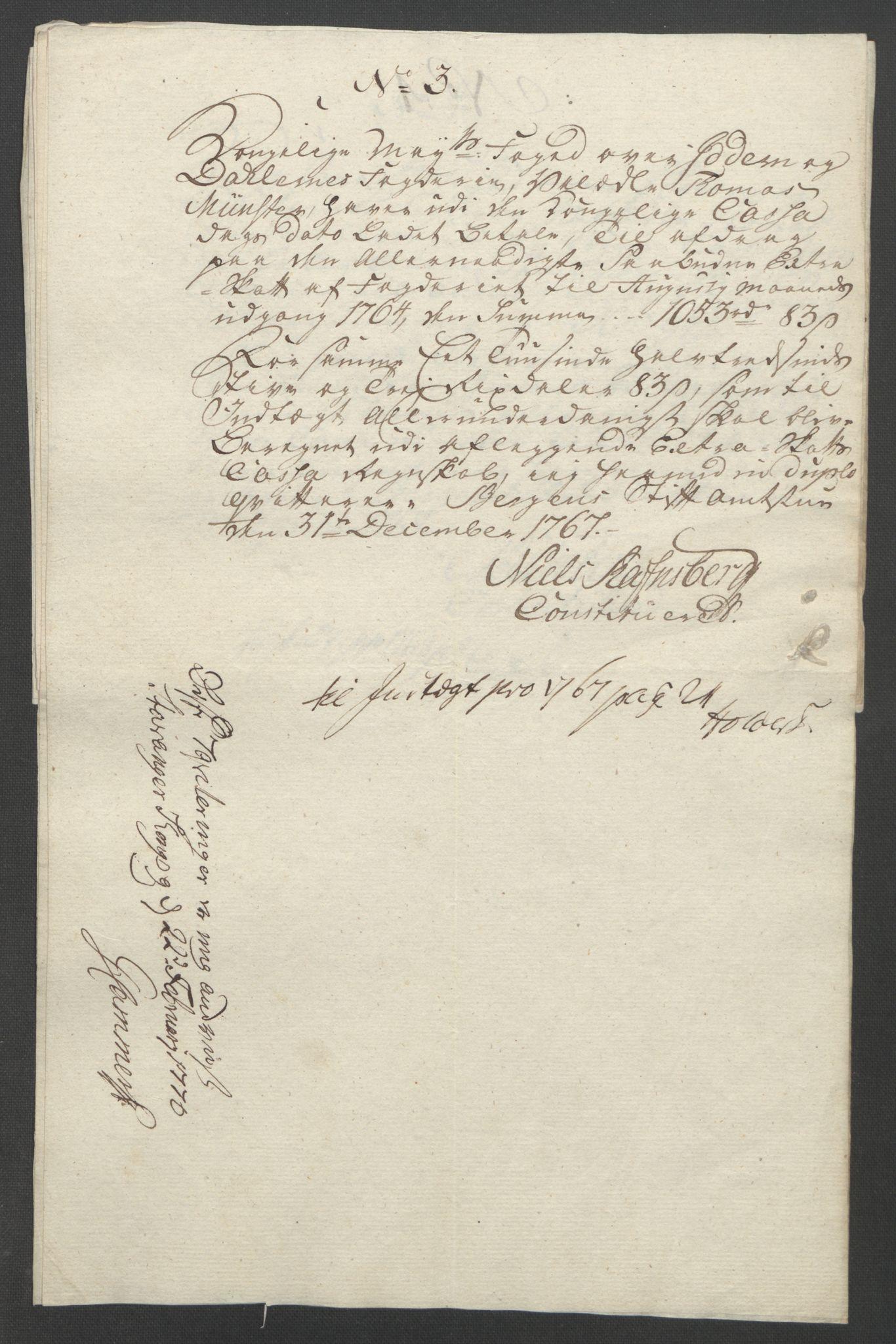 RA, Rentekammeret inntil 1814, Reviderte regnskaper, Fogderegnskap, R46/L2836: Ekstraskatten Jæren og Dalane, 1764-1766, s. 286