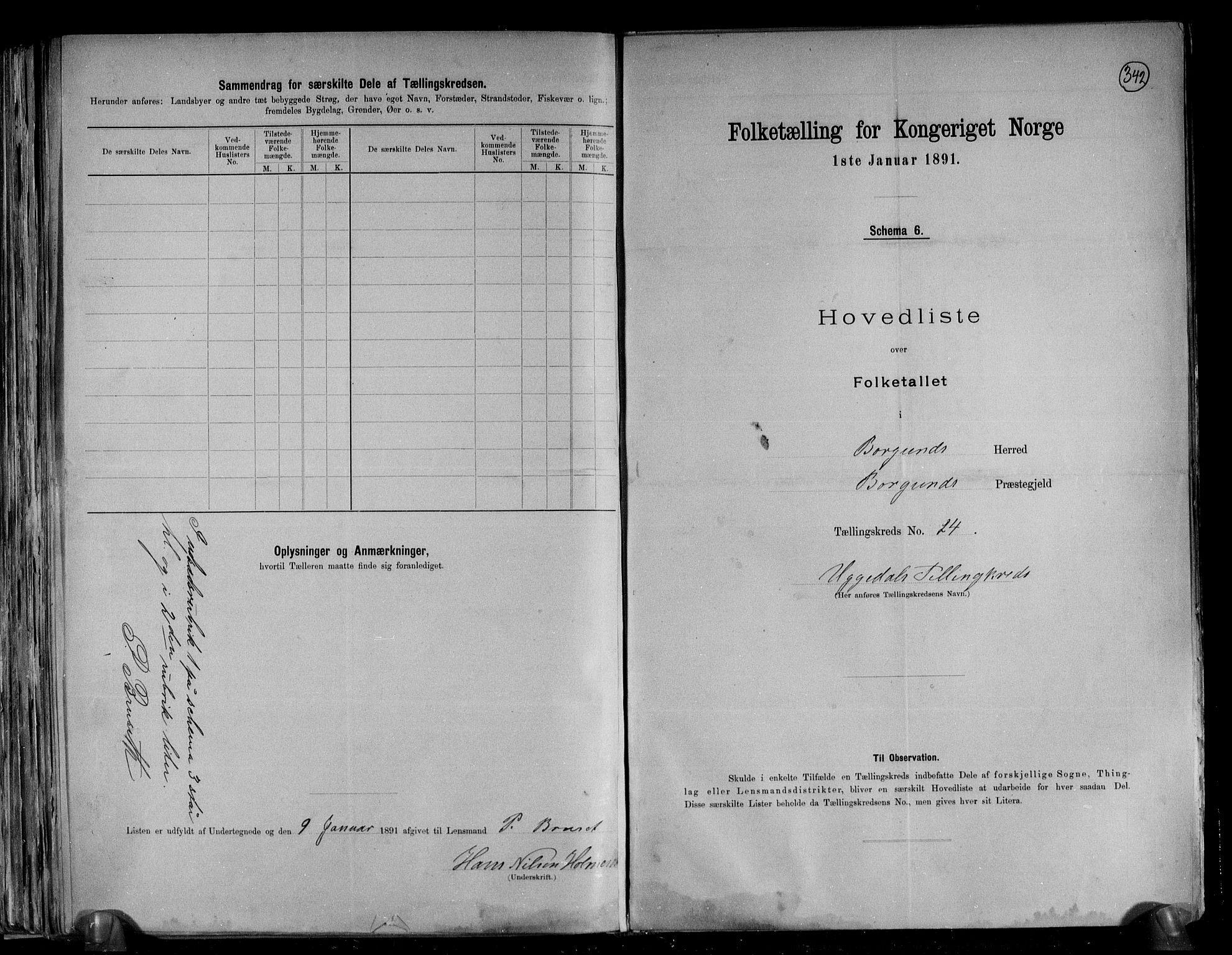 RA, Folketelling 1891 for 1531 Borgund herred, 1891, s. 53