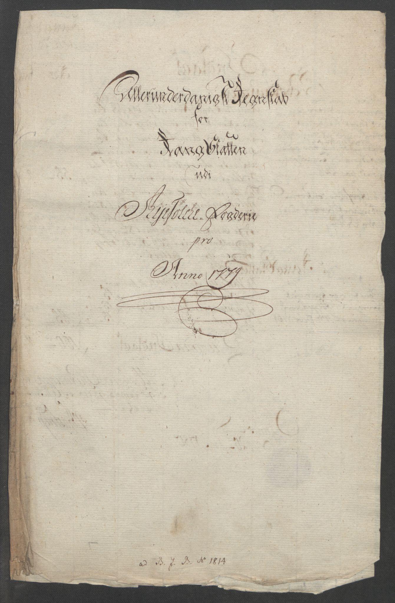 RA, Rentekammeret inntil 1814, Reviderte regnskaper, Fogderegnskap, R47/L2972: Ekstraskatten Ryfylke, 1762-1780, s. 612
