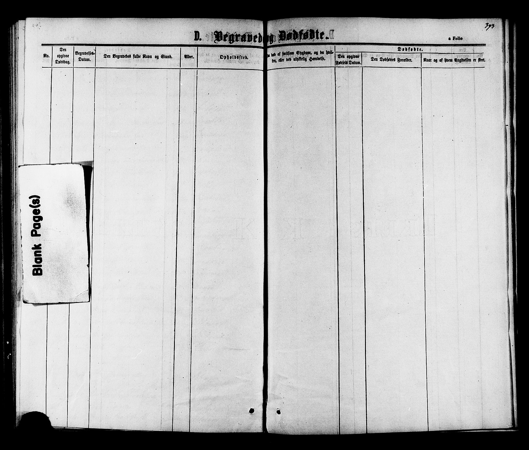 SAT, Ministerialprotokoller, klokkerbøker og fødselsregistre - Nord-Trøndelag, 703/L0038: Klokkerbok nr. 703C01, 1864-1870, s. 393