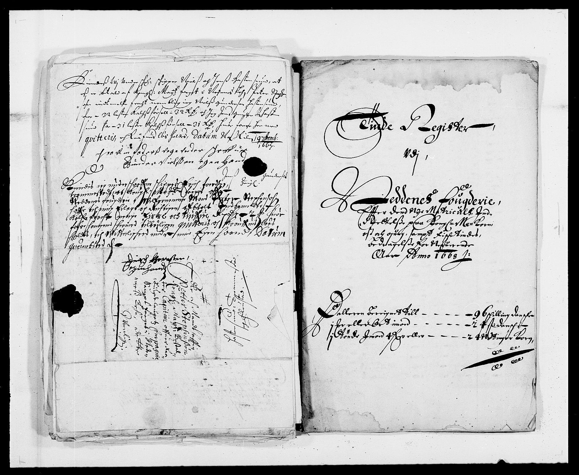 RA, Rentekammeret inntil 1814, Reviderte regnskaper, Fogderegnskap, R39/L2298: Fogderegnskap Nedenes, 1667-1669, s. 44
