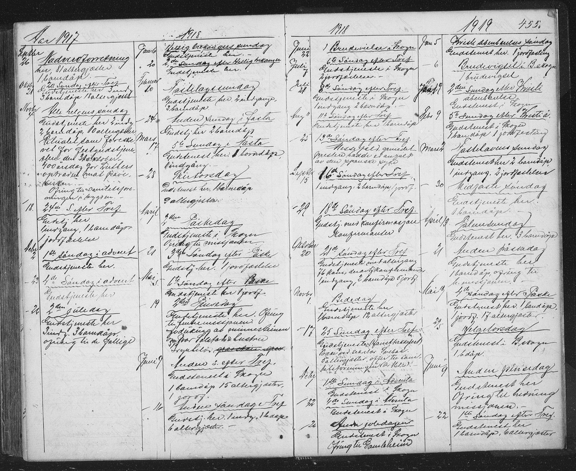 SAT, Ministerialprotokoller, klokkerbøker og fødselsregistre - Sør-Trøndelag, 667/L0798: Klokkerbok nr. 667C03, 1867-1929, s. 455