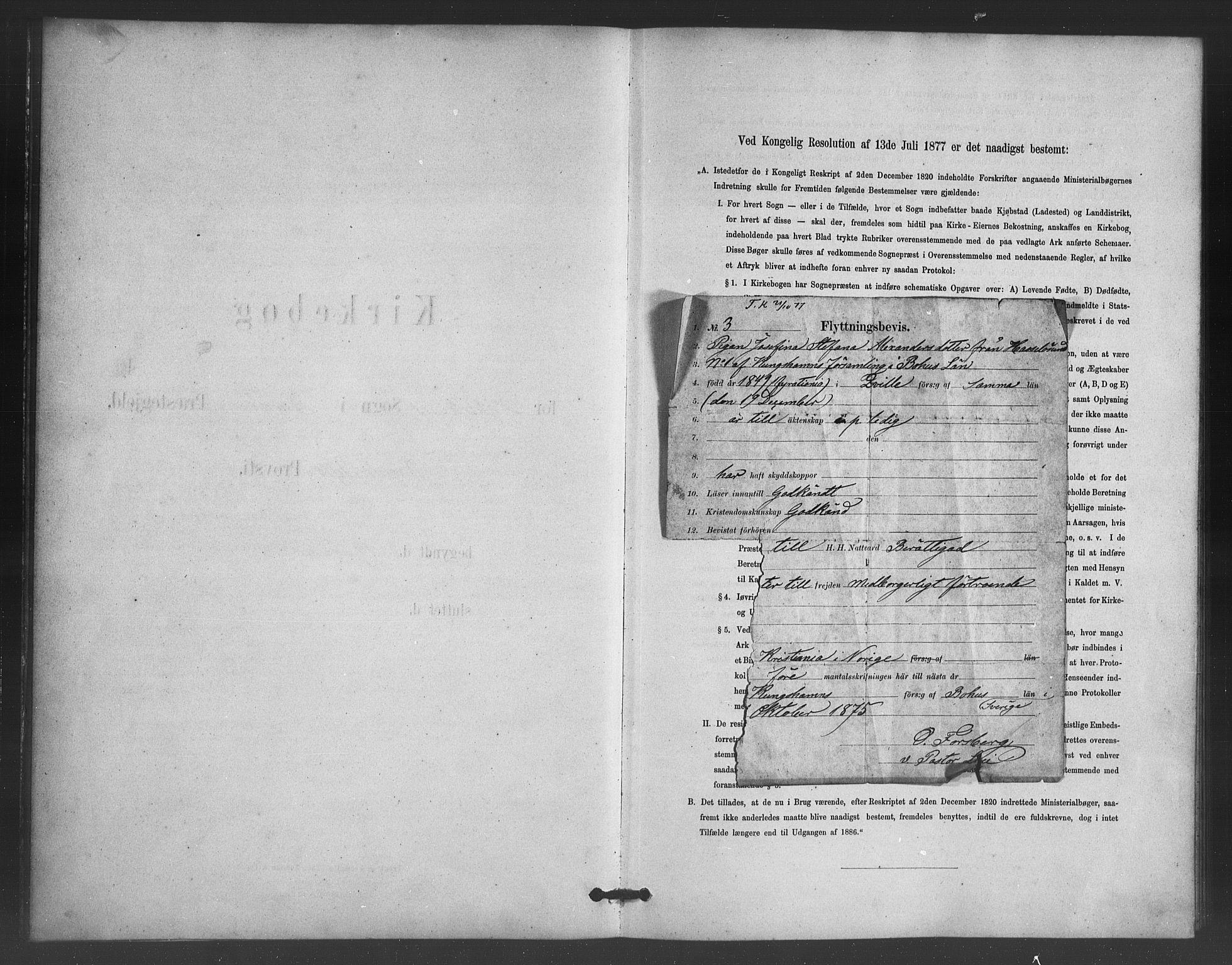 SAB, Nykirken Sokneprestembete, H/Haa: Ministerialbok nr. G 3, 1880-1889