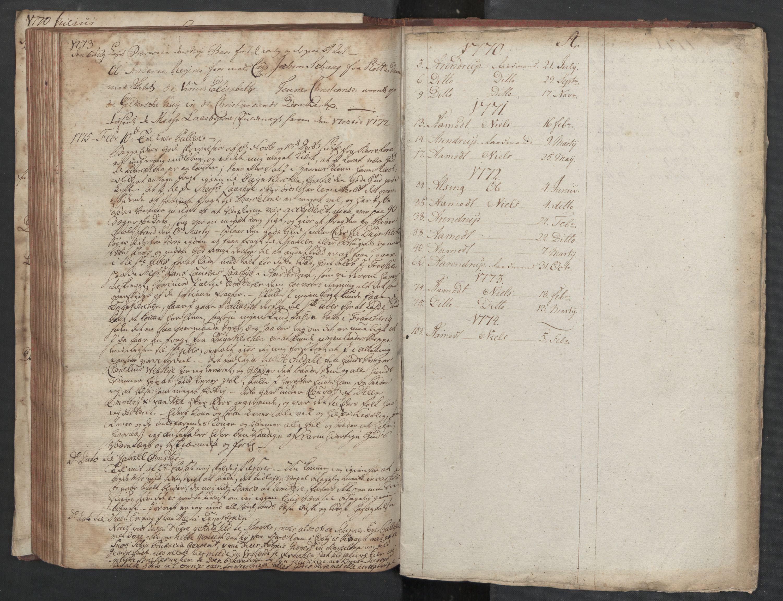 SAST, Pa 0003 - Ploug & Sundt, handelshuset, B/L0002: Kopibok, 1770-1775, s. 140b-upag.
