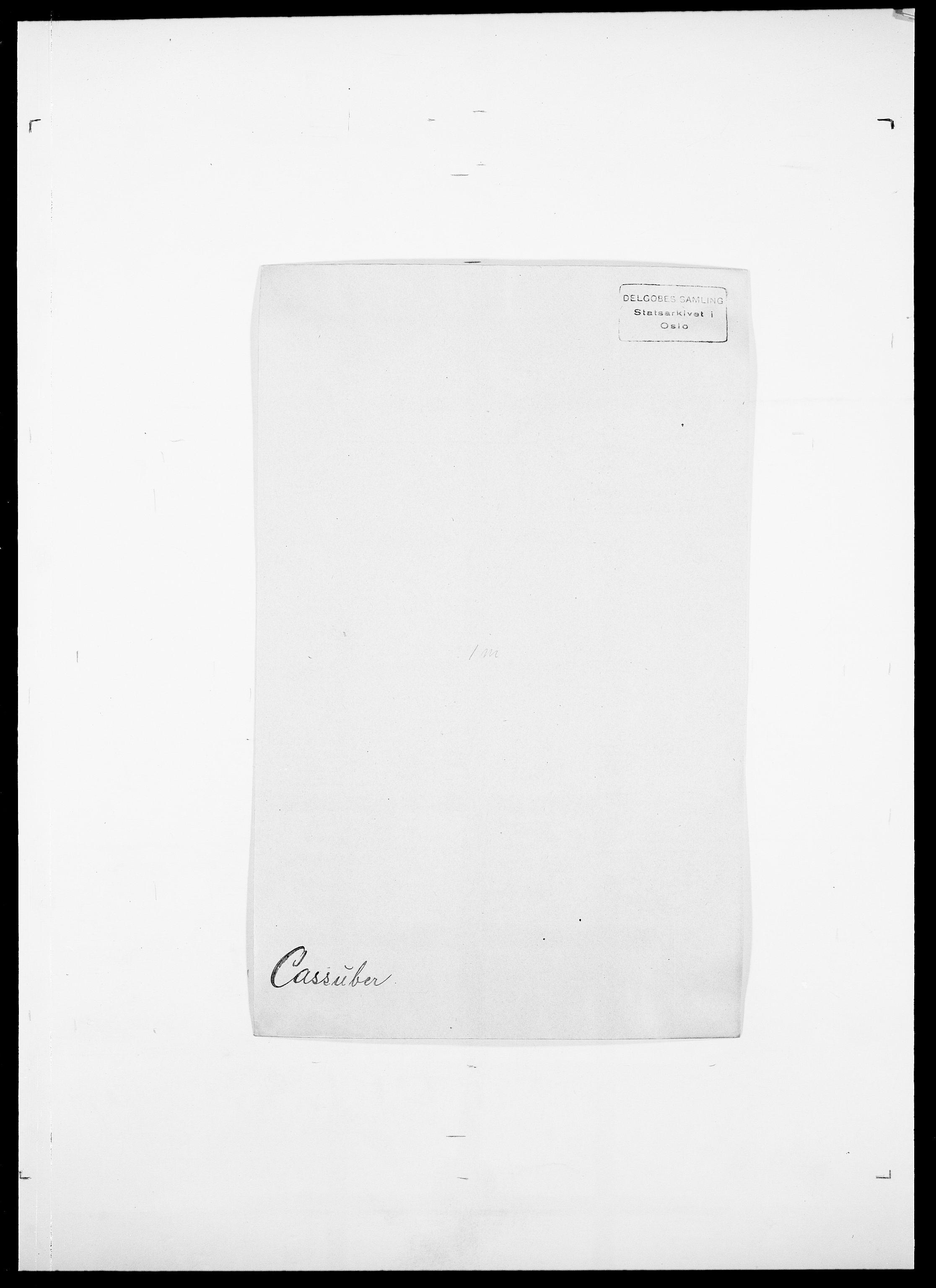 SAO, Delgobe, Charles Antoine - samling, D/Da/L0008: Capjon - Dagenbolt, s. 129