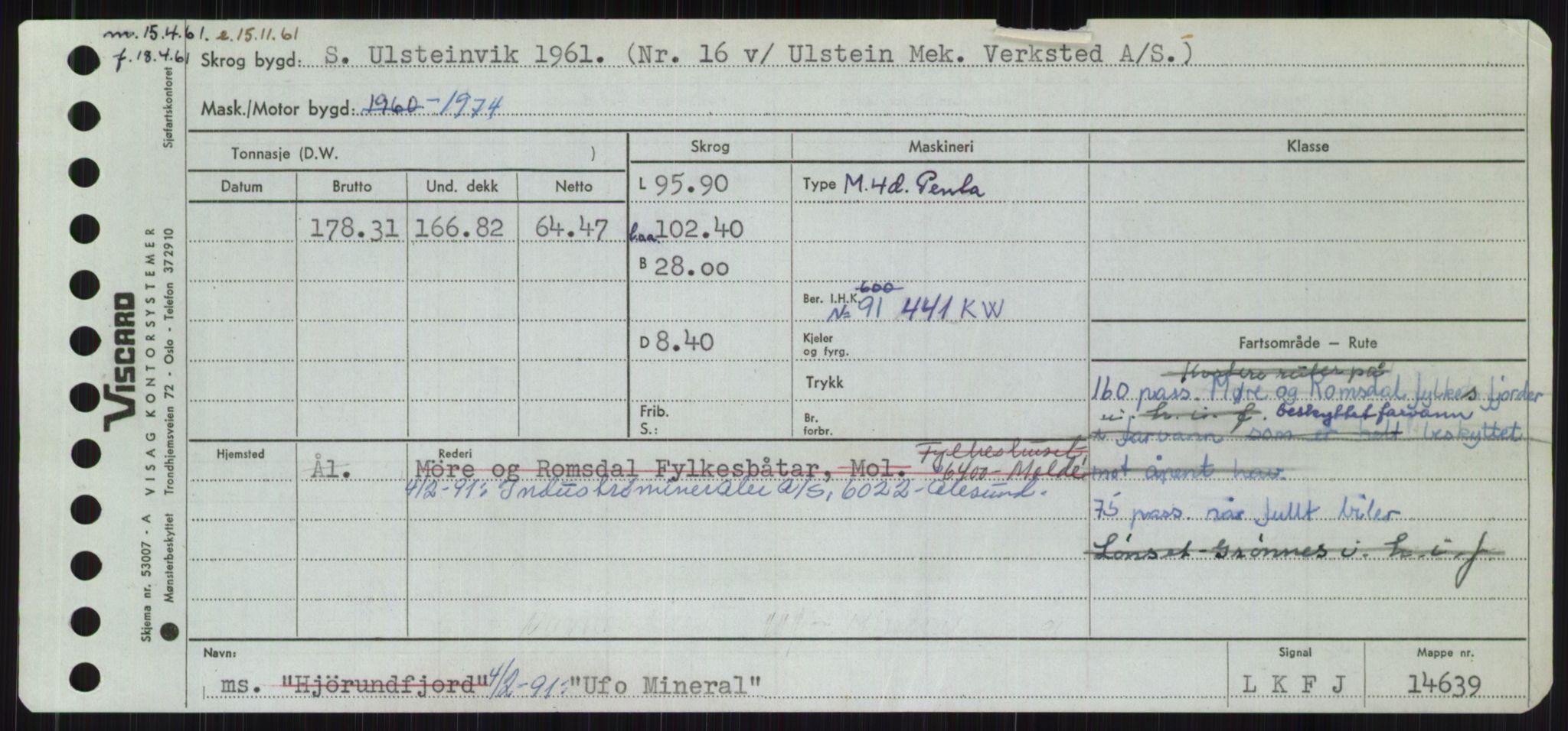 RA, Sjøfartsdirektoratet med forløpere, Skipsmålingen, H/Ha/L0006: Fartøy, Sver-Å, s. 3