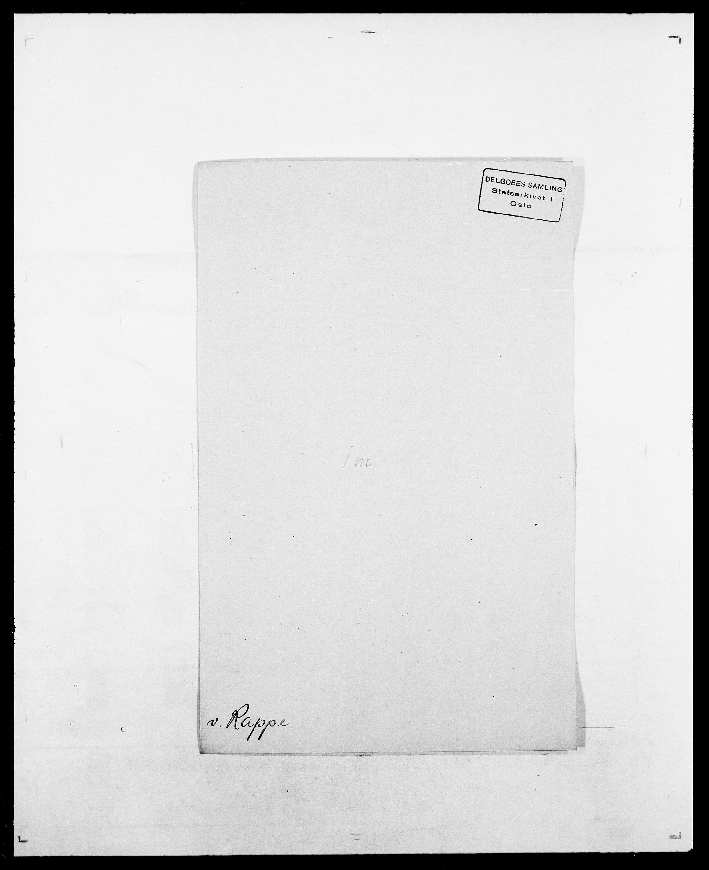 SAO, Delgobe, Charles Antoine - samling, D/Da/L0032: Rabakovsky - Rivertz, s. 129