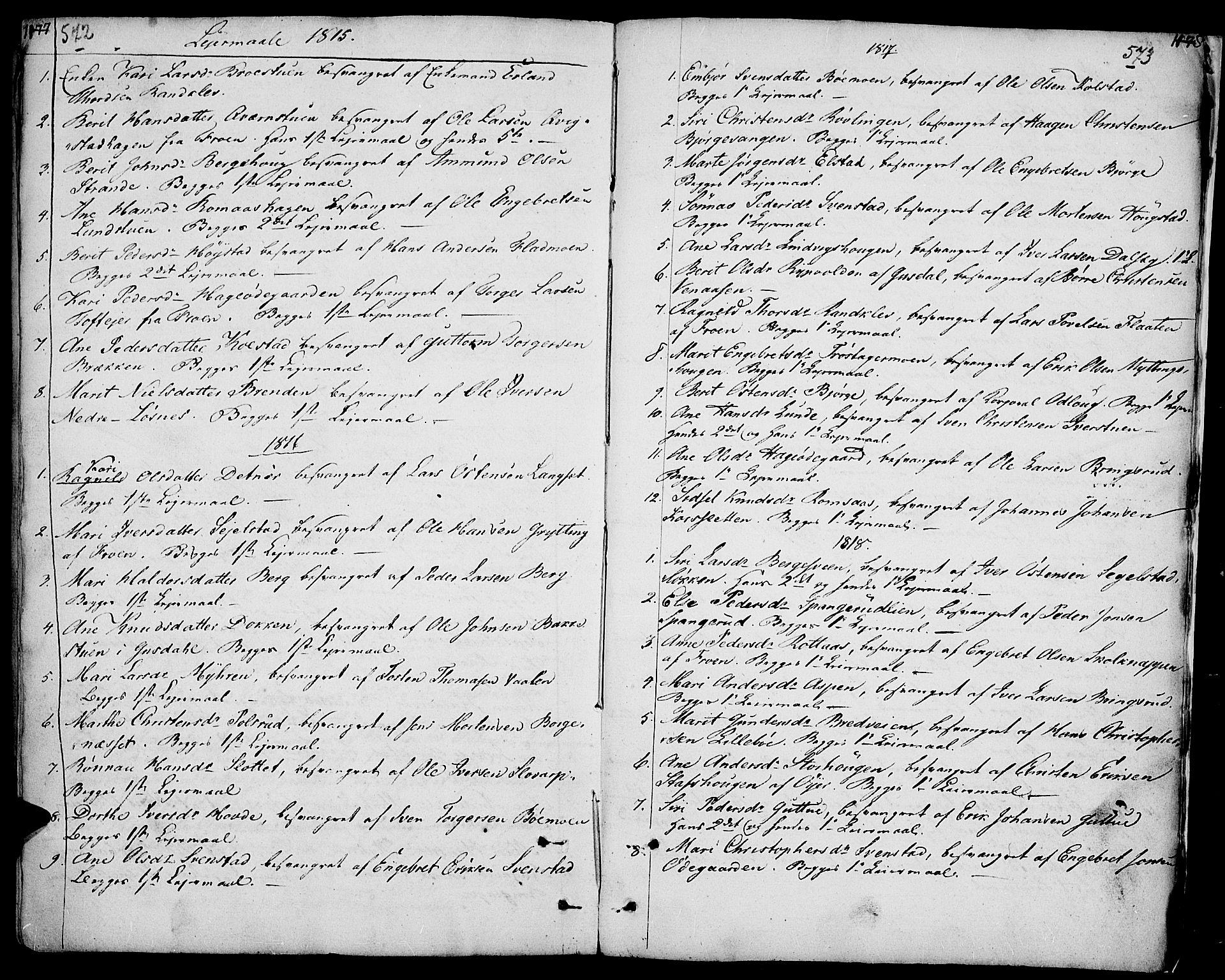 SAH, Ringebu prestekontor, Ministerialbok nr. 3, 1781-1820, s. 572-573