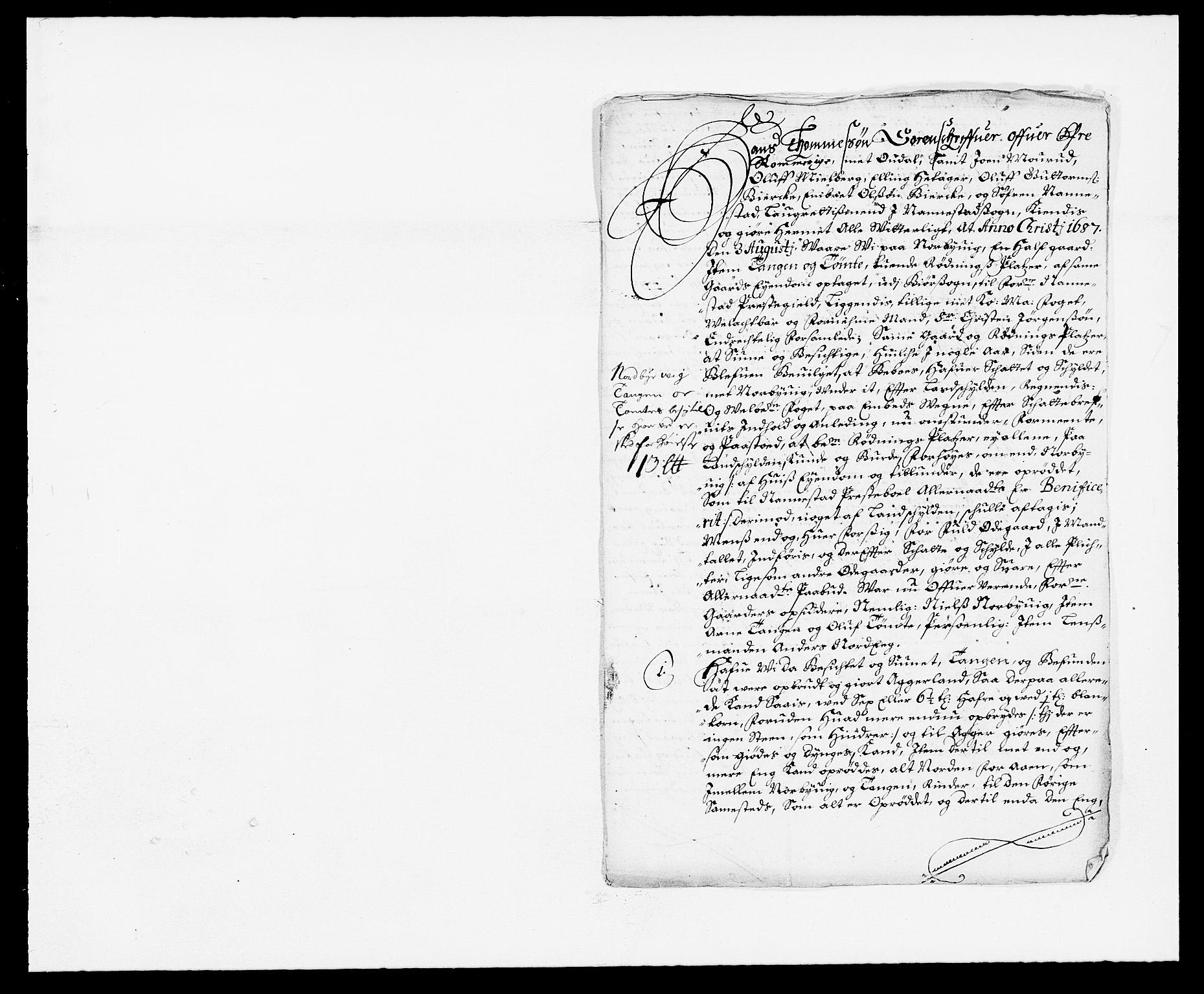 RA, Rentekammeret inntil 1814, Reviderte regnskaper, Fogderegnskap, R12/L0700: Fogderegnskap Øvre Romerike, 1687-1688, s. 126