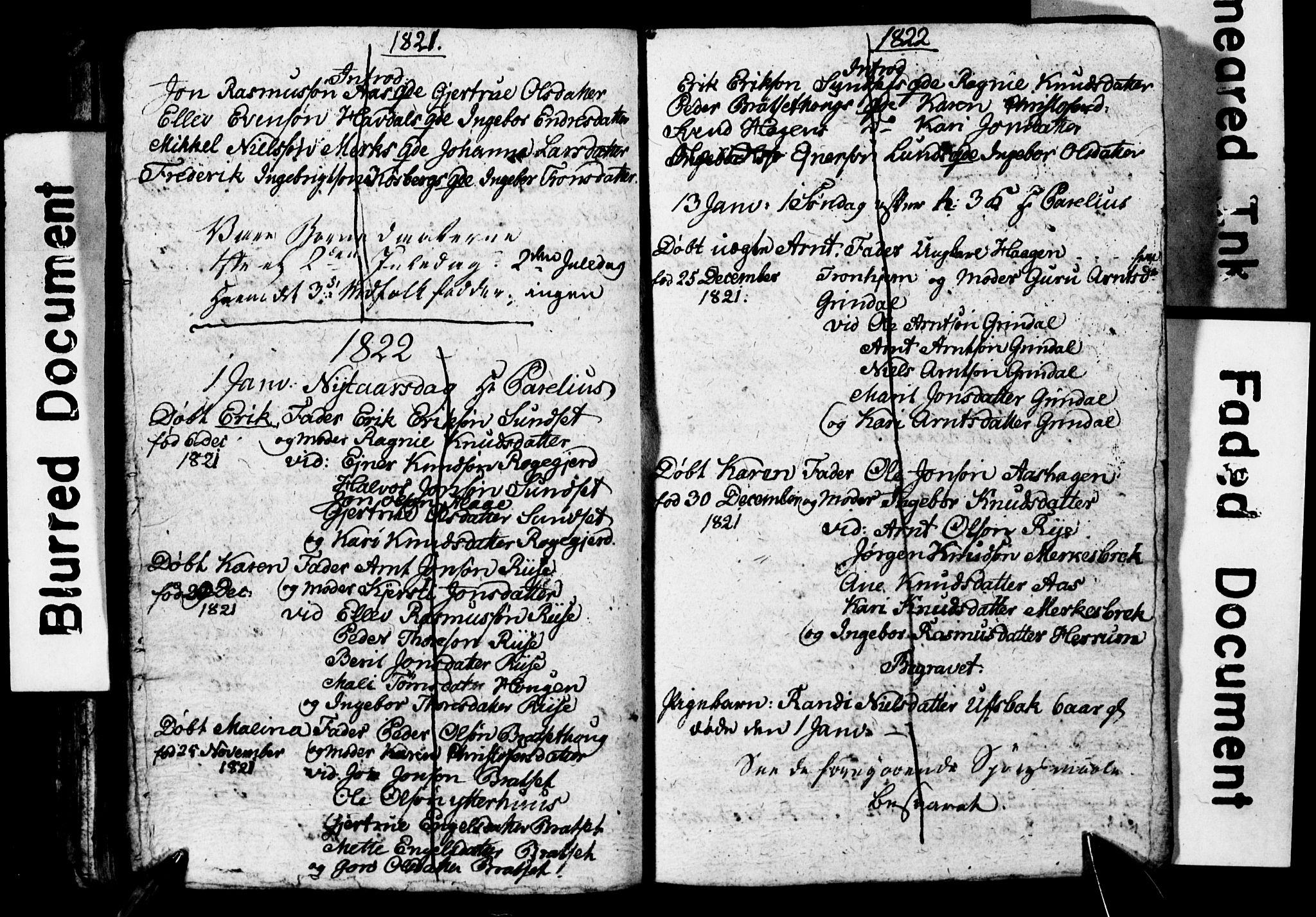 SAT, Ministerialprotokoller, klokkerbøker og fødselsregistre - Sør-Trøndelag, 674/L0882: Klokkerbok nr. 674C09, 1818-1822