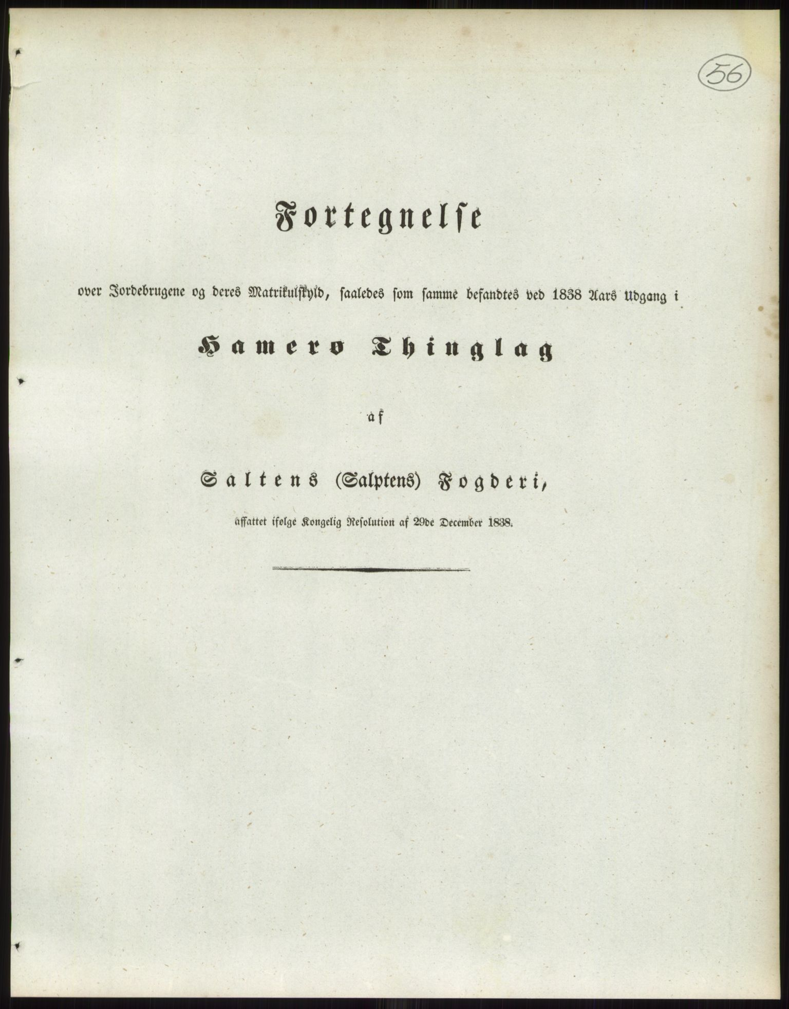 RA, 1838-matrikkelen (publikasjon)*, 1838, s. 56