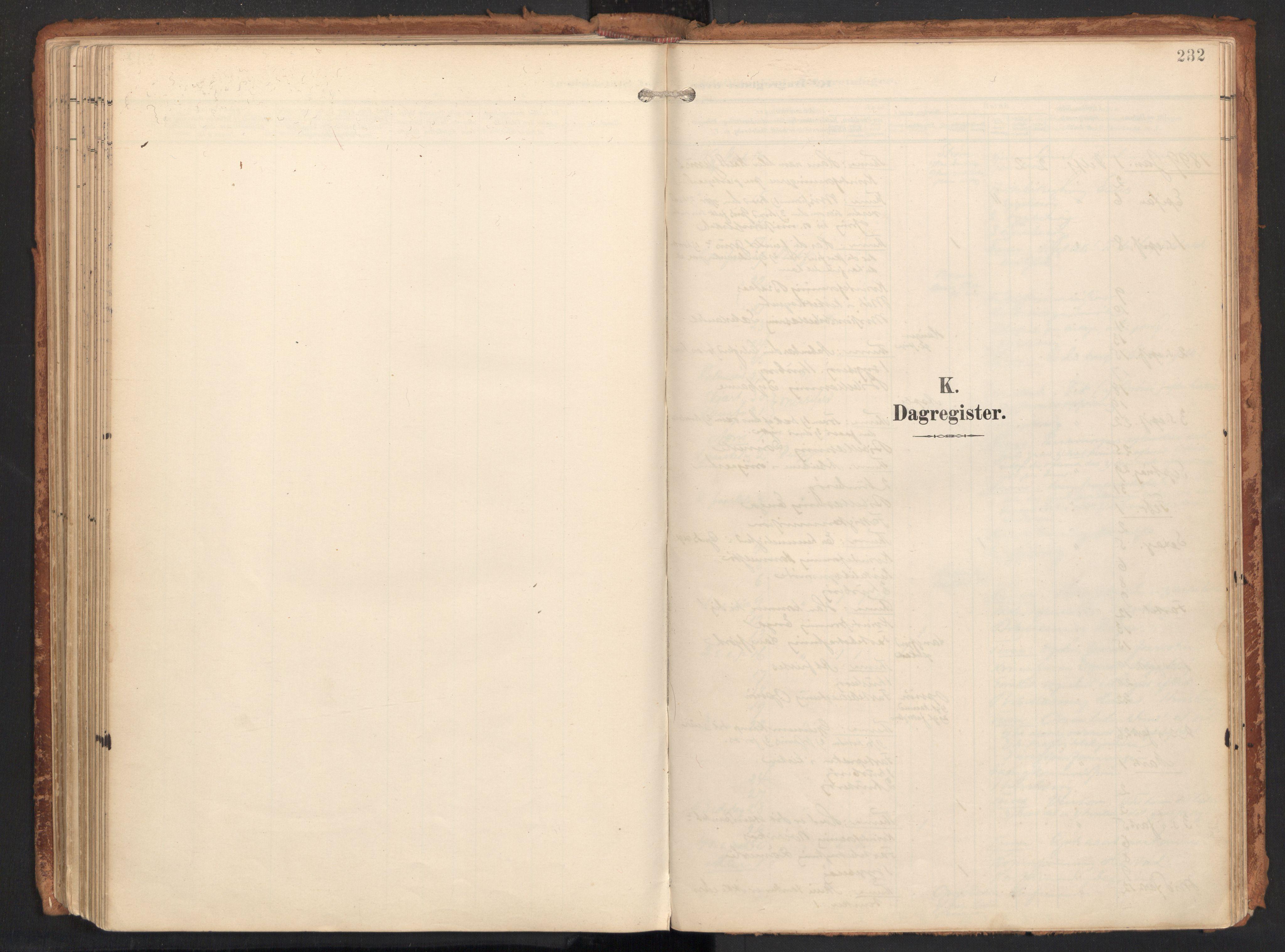 SAT, Ministerialprotokoller, klokkerbøker og fødselsregistre - Nordland, 814/L0227: Ministerialbok nr. 814A08, 1899-1920, s. 232
