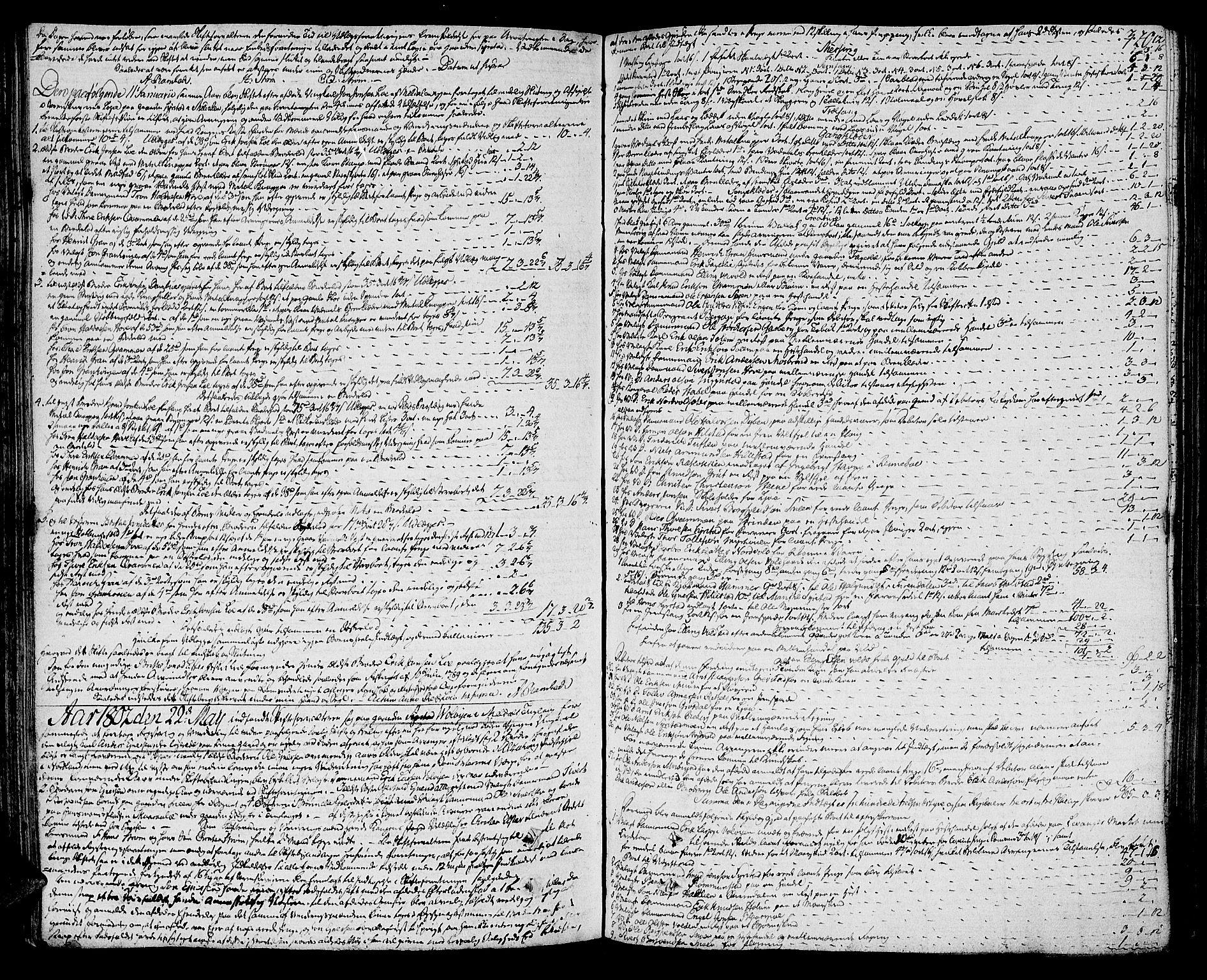 SAT, Orkdal sorenskriveri, 3/3Aa/L0009: Skifteprotokoller, 1796-1805, s. 319b-320a