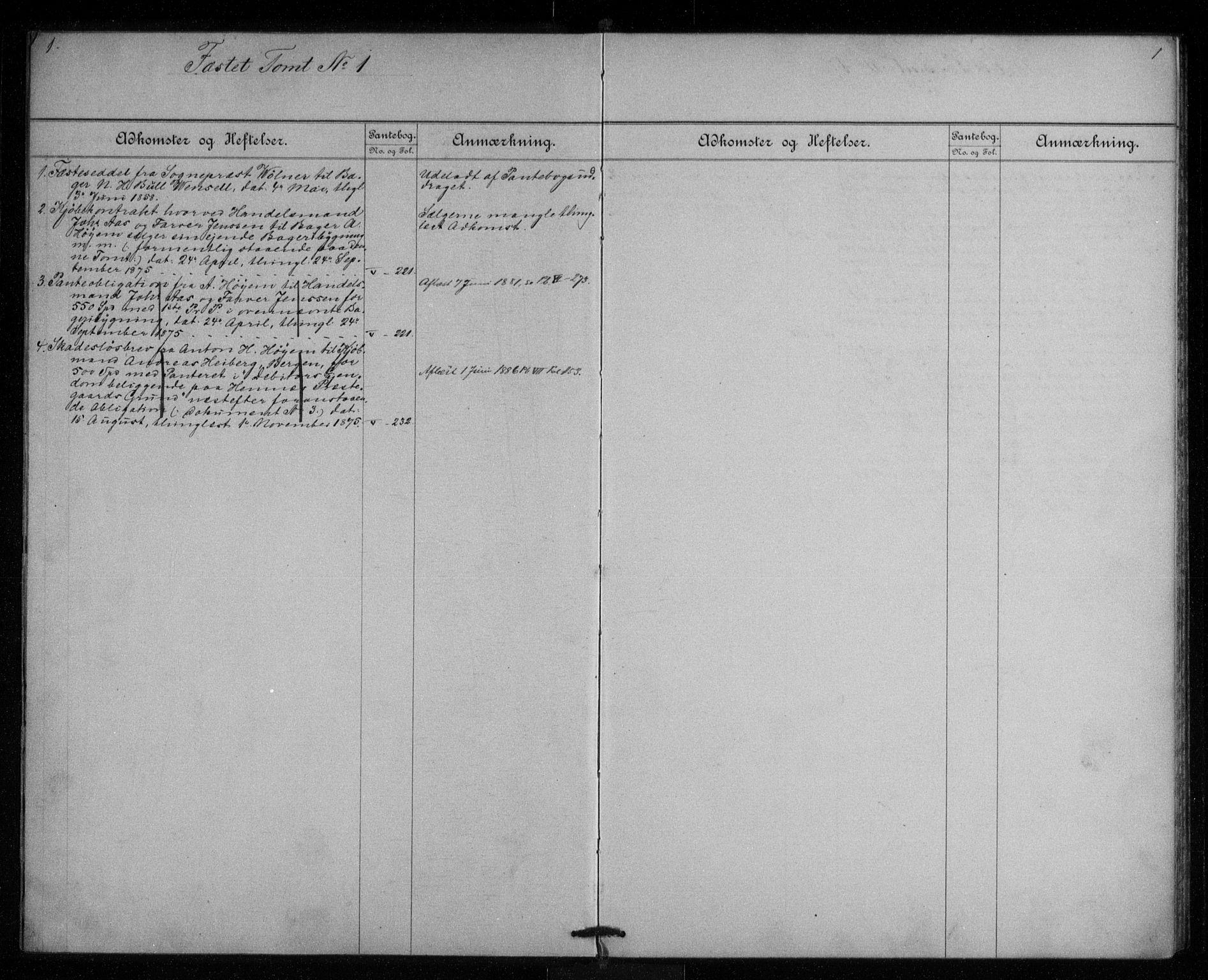 SAT, Rana sorenskriveri , 2/2A/L0015: Panteregister nr. 15, s. 1