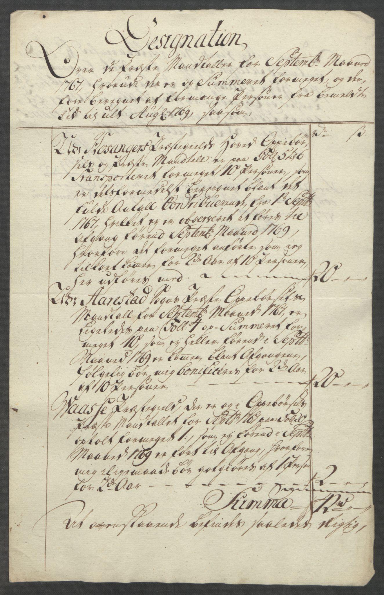 RA, Rentekammeret inntil 1814, Reviderte regnskaper, Fogderegnskap, R51/L3303: Ekstraskatten Nordhordland og Voss, 1762-1772, s. 382