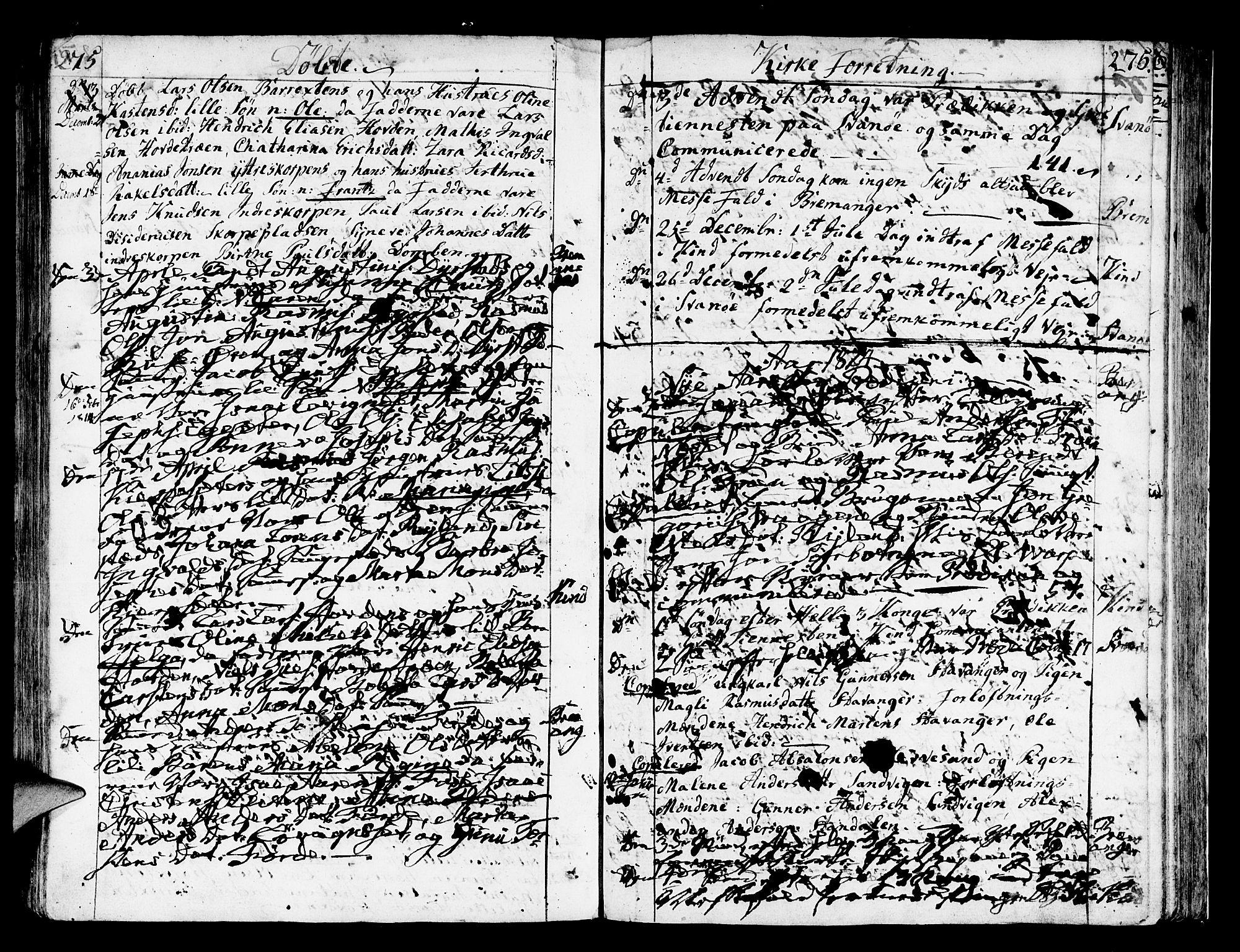 SAB, Kinn Sokneprestembete, Ministerialbok nr. A 3, 1785-1821, s. 275