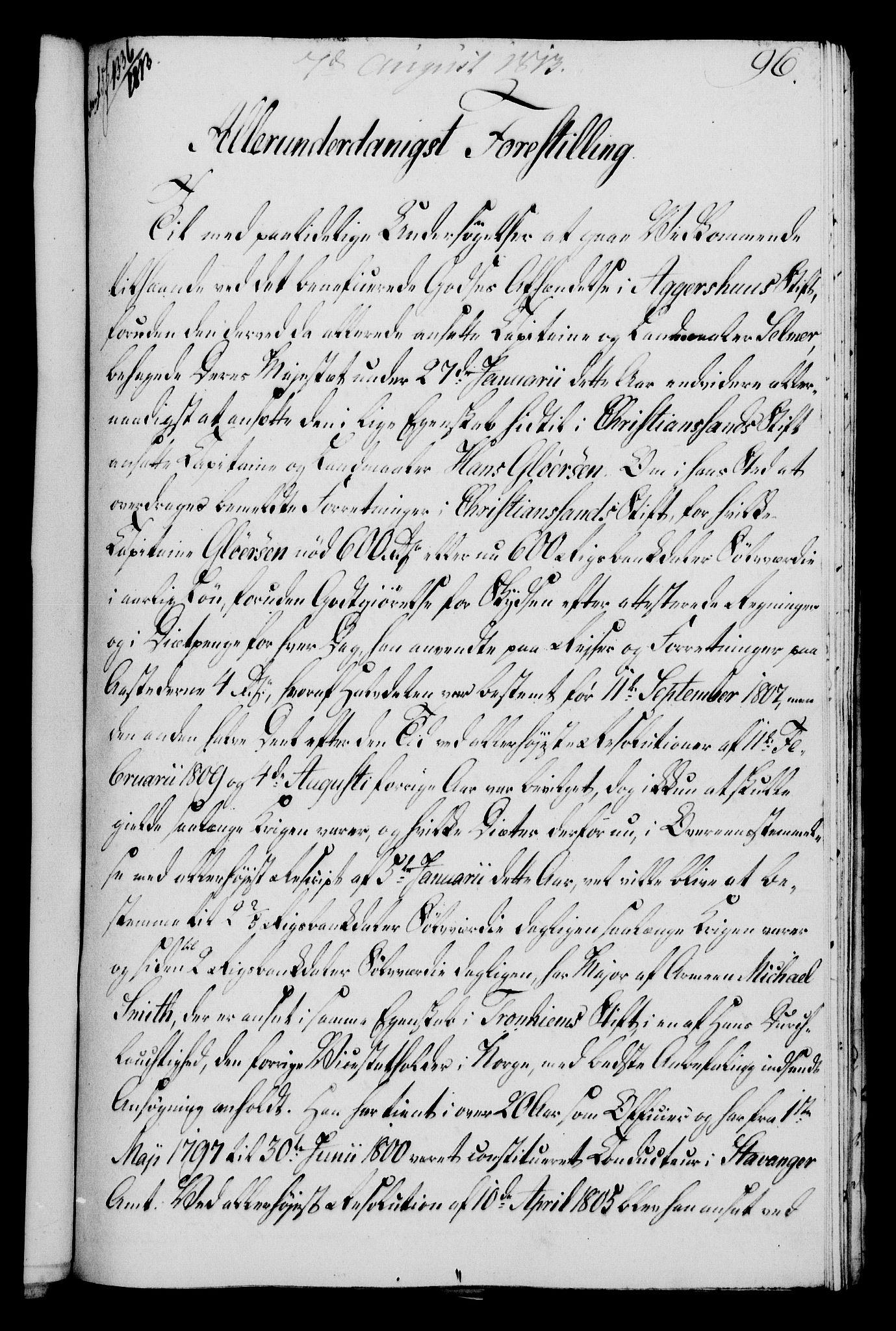 RA, Rentekammeret, Kammerkanselliet, G/Gf/Gfa/L0095: Norsk relasjons- og resolusjonsprotokoll (merket RK 52.95), 1813-1814, s. 397