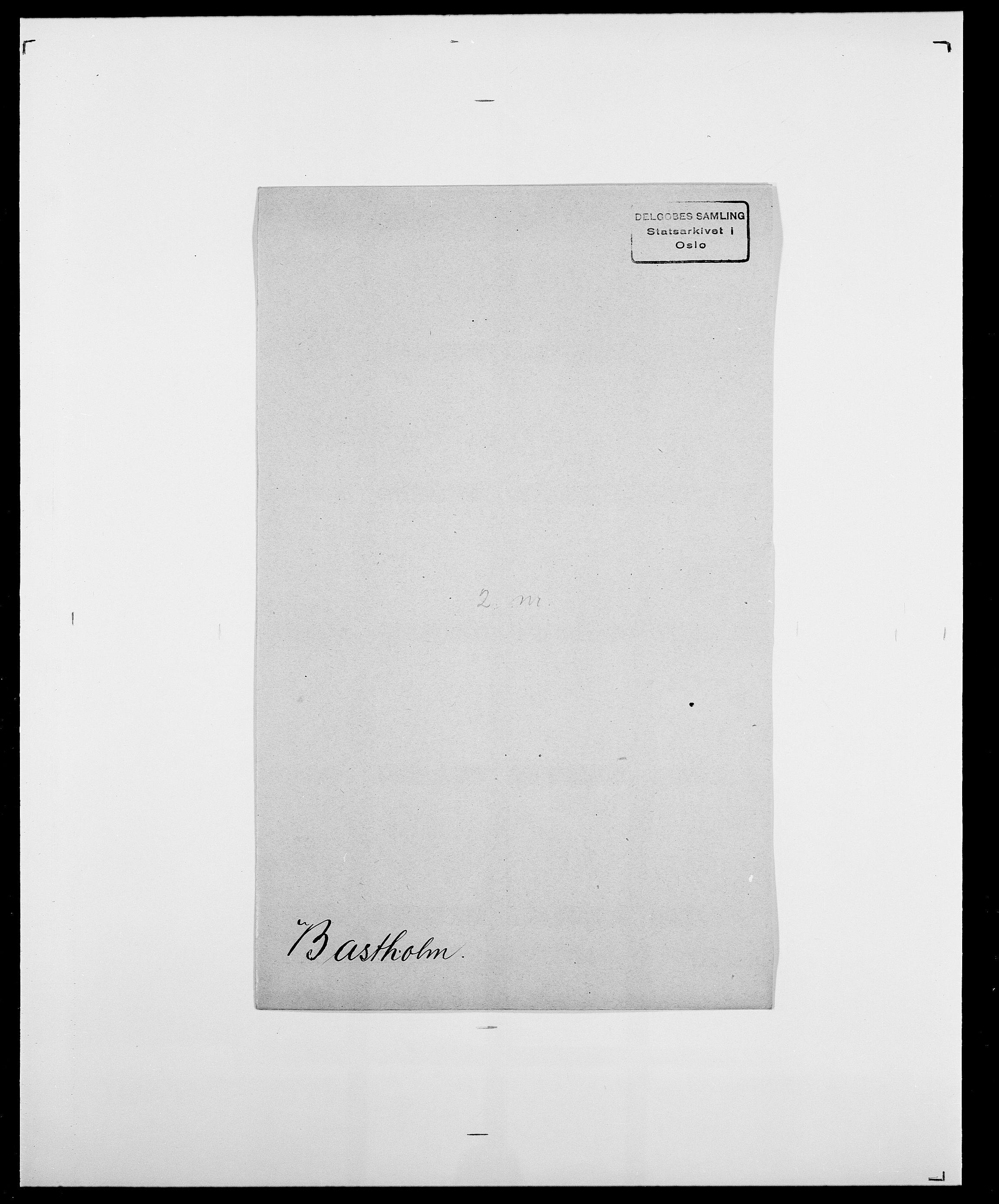 SAO, Delgobe, Charles Antoine - samling, D/Da/L0003: Barca - Bergen, s. 428