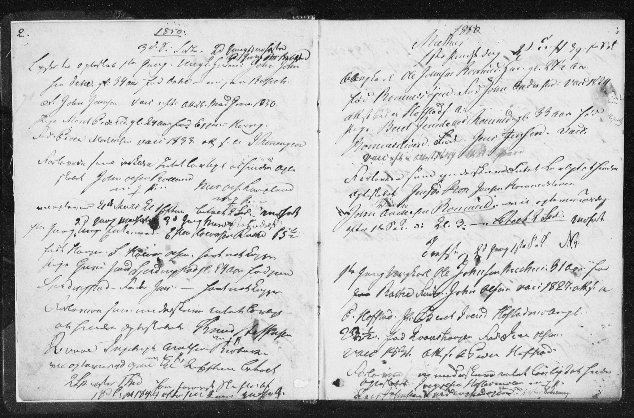 SAT, Arkivreferanse ukjent**, Lysningsprotokoll nr. 691.I.1F9, 1850-1866