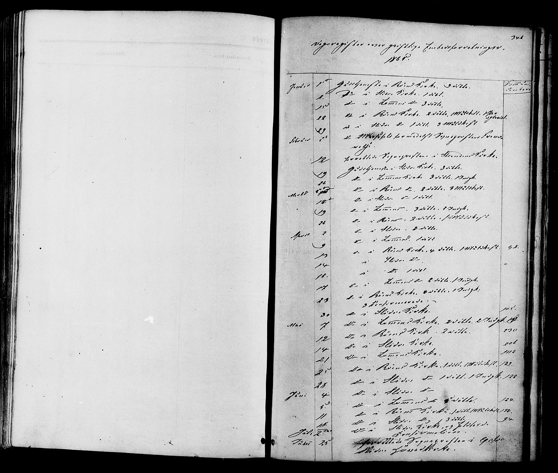 SAH, Vestre Slidre prestekontor, Ministerialbok nr. 3, 1865-1880, s. 346