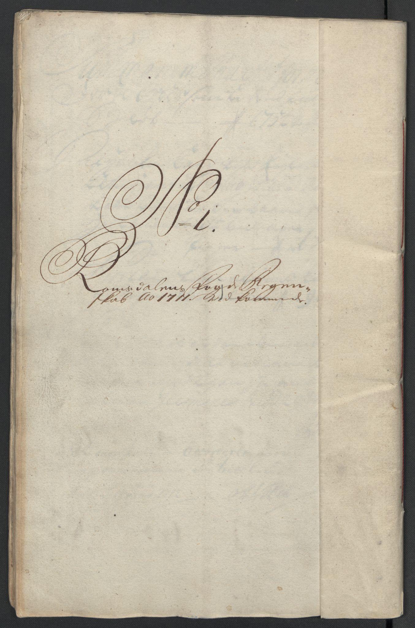 RA, Rentekammeret inntil 1814, Reviderte regnskaper, Fogderegnskap, R55/L3660: Fogderegnskap Romsdal, 1711, s. 81