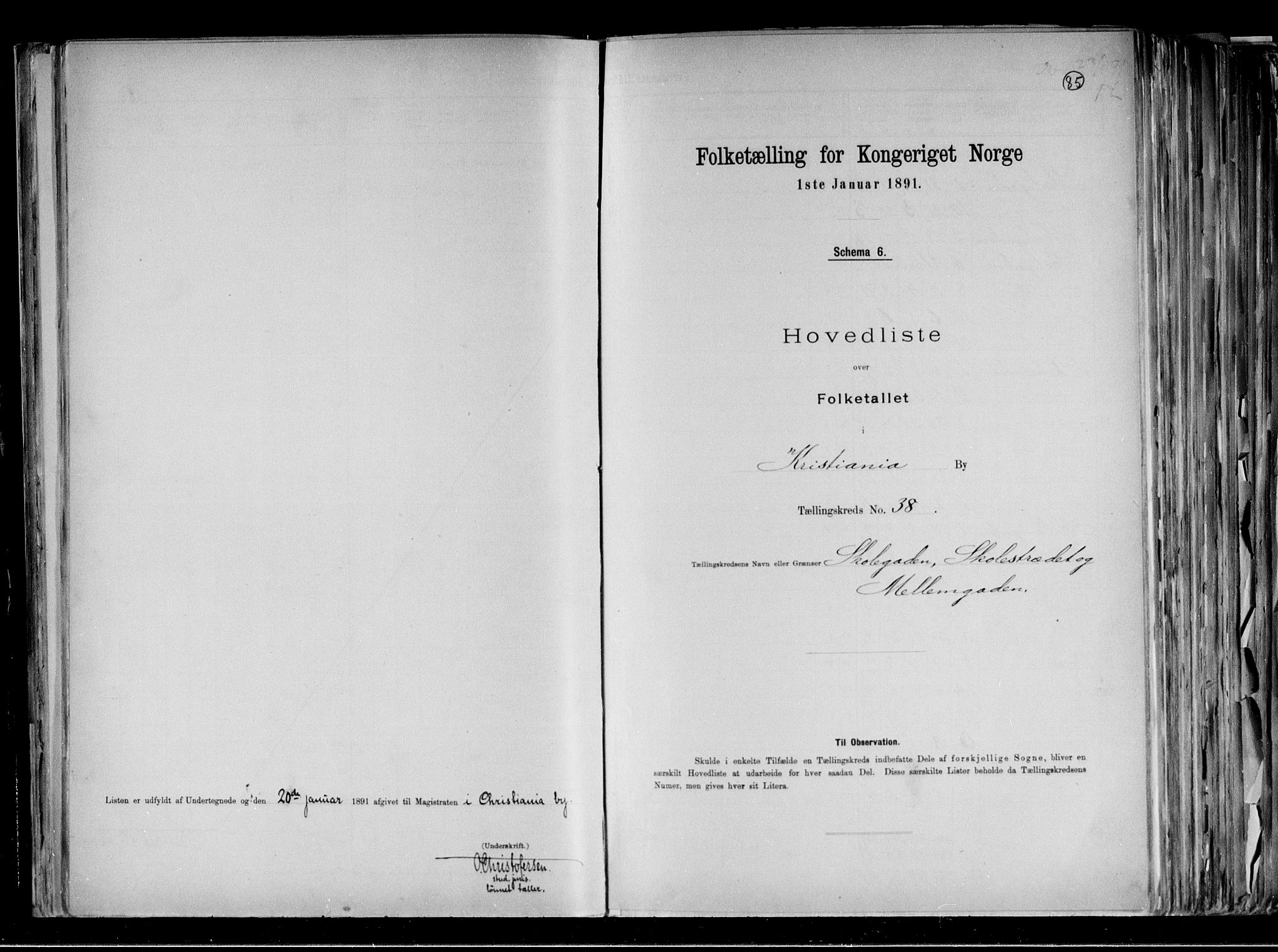 RA, Folketelling 1891 for 0301 Kristiania kjøpstad, 1891, s. 12971