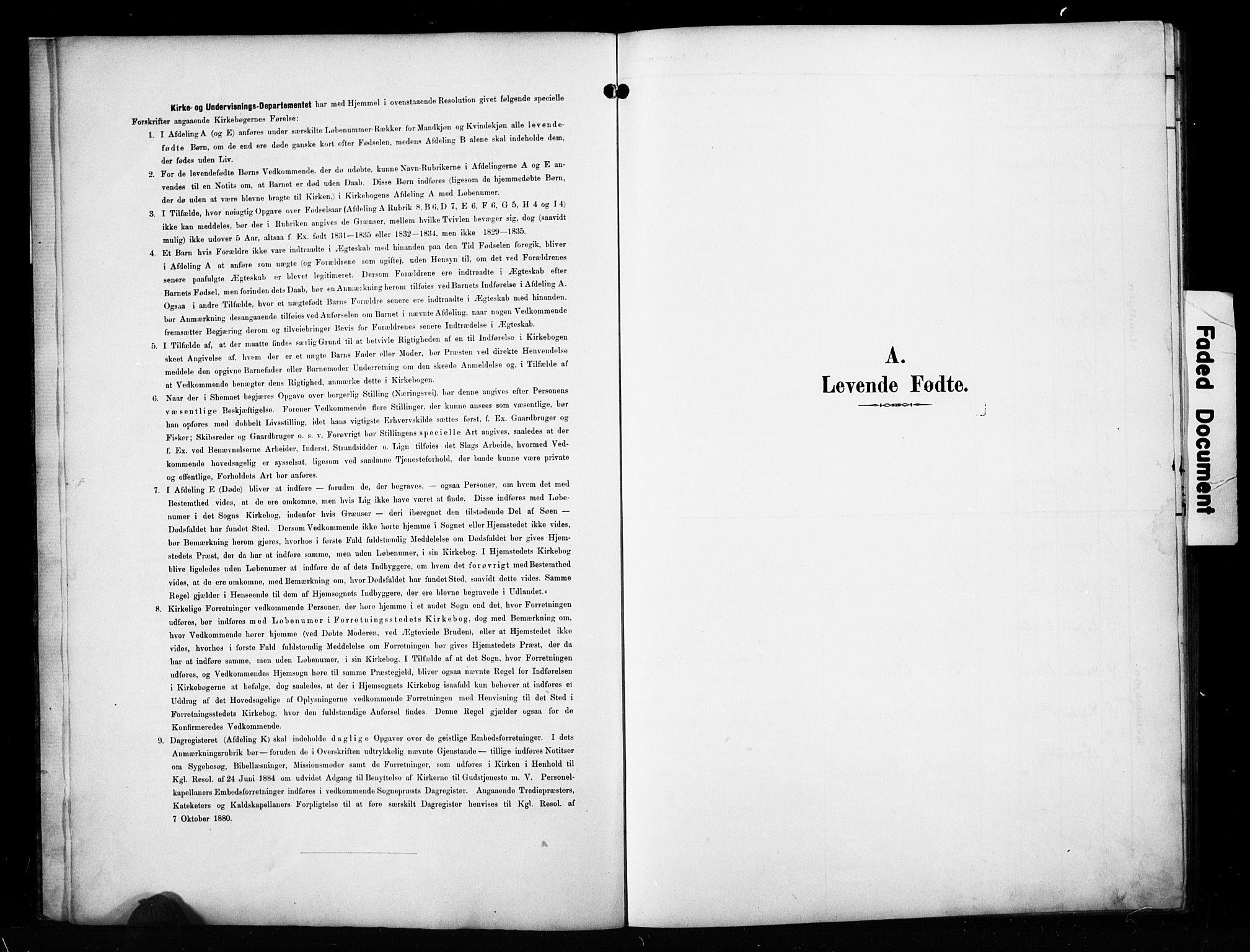 SAH, Sør-Aurdal prestekontor, Klokkerbok nr. 10, 1894-1929