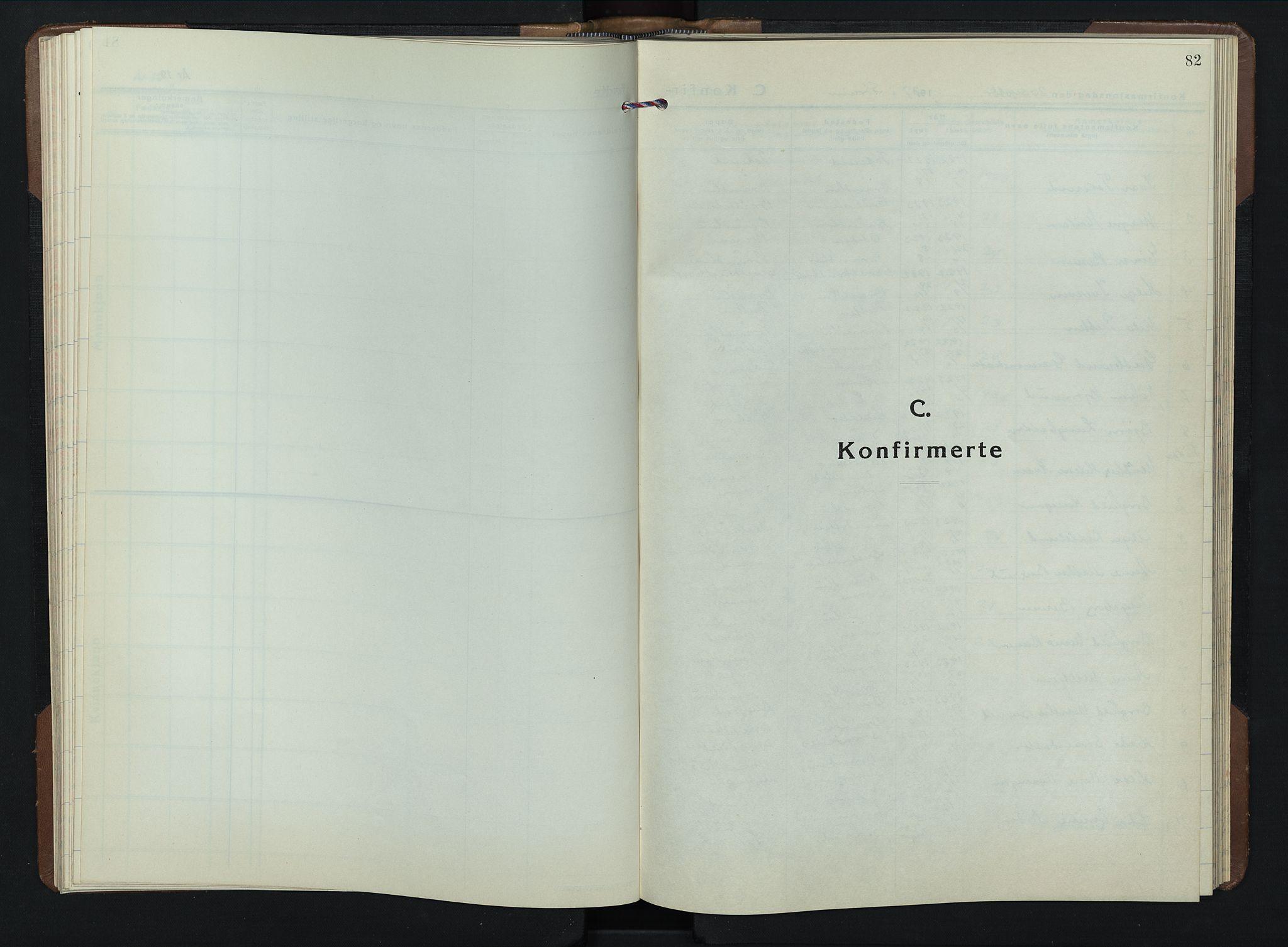SAH, Brandbu prestekontor, Klokkerbok nr. 2, 1937-1953, s. 82