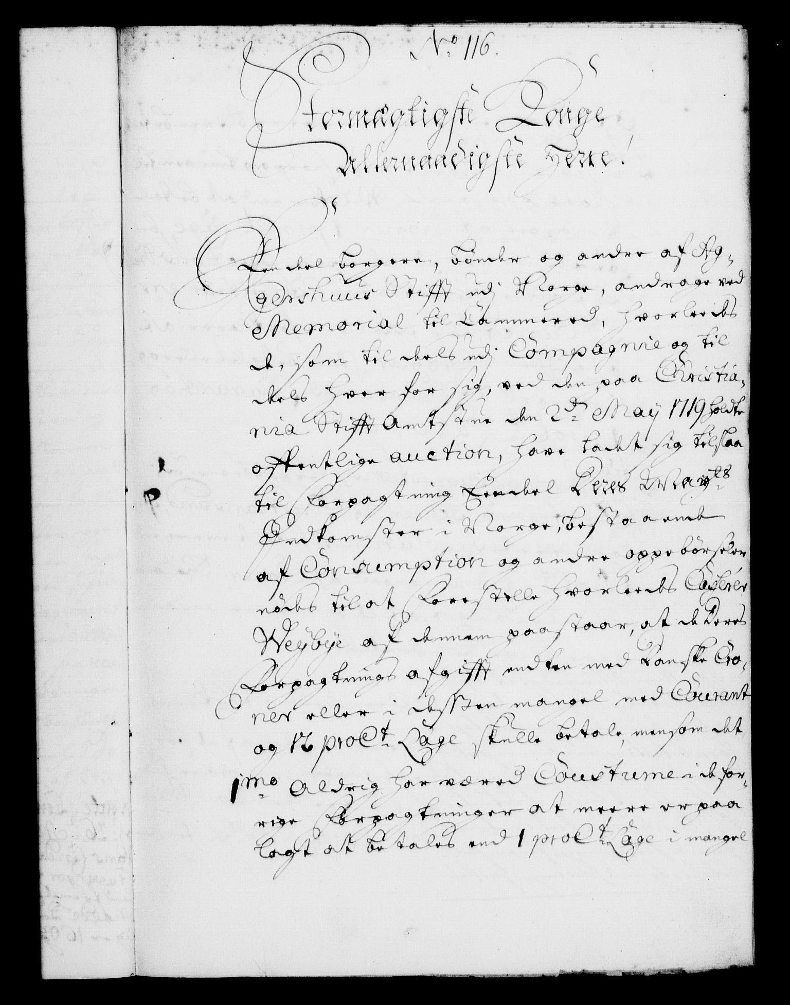 RA, Rentekammeret, Kammerkanselliet, G/Gf/Gfa/L0004: Norsk relasjons- og resolusjonsprotokoll (merket RK 52.4), 1721, s. 916
