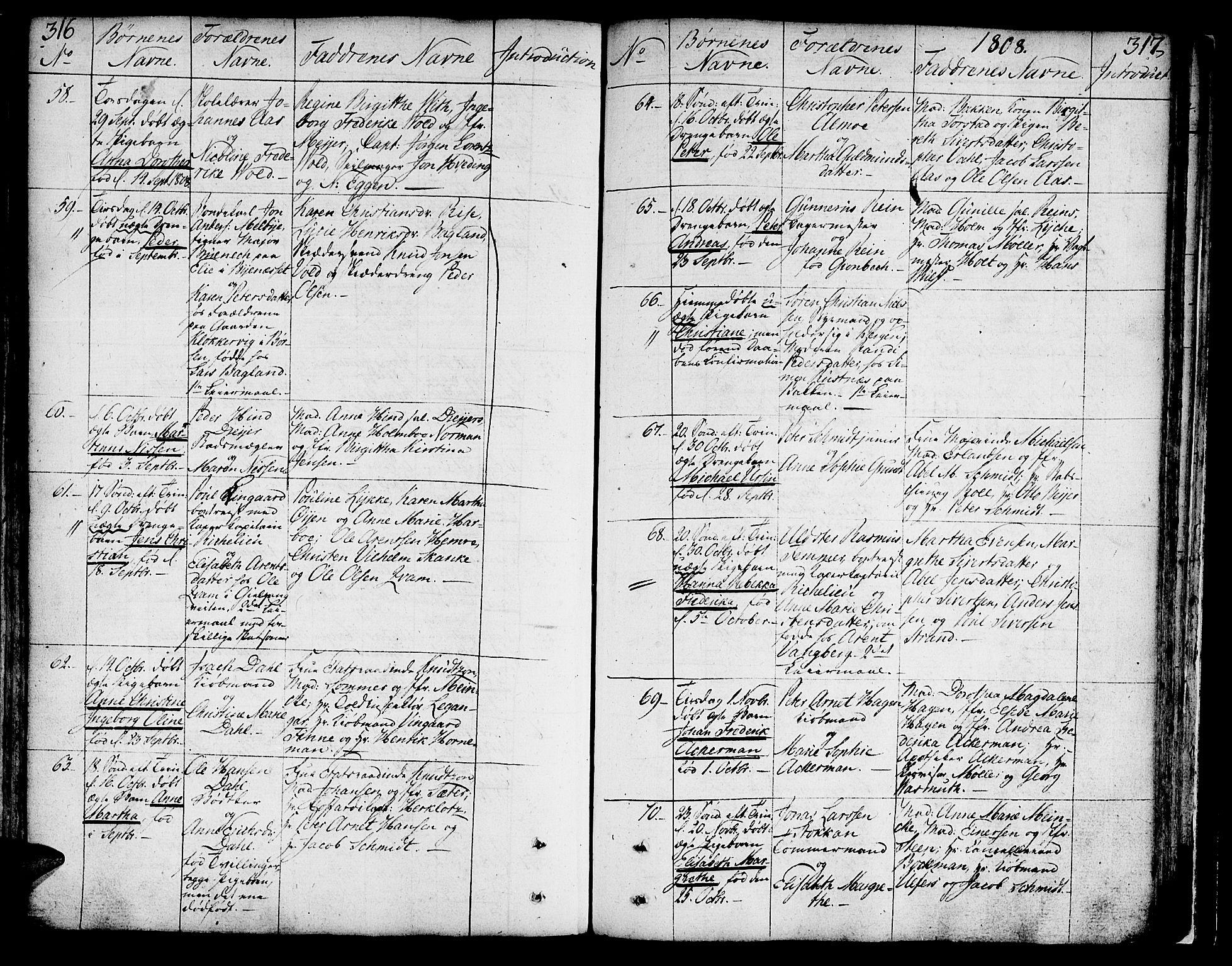 SAT, Ministerialprotokoller, klokkerbøker og fødselsregistre - Sør-Trøndelag, 602/L0104: Ministerialbok nr. 602A02, 1774-1814, s. 316-317
