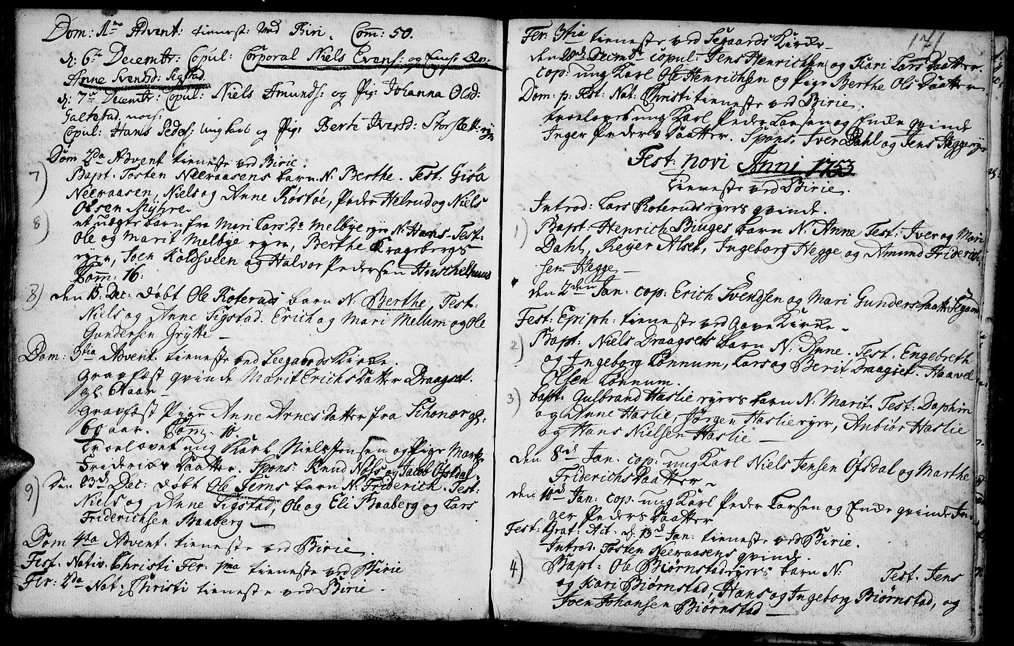 SAH, Biri prestekontor, Ministerialbok nr. 1, 1730-1754, s. 171
