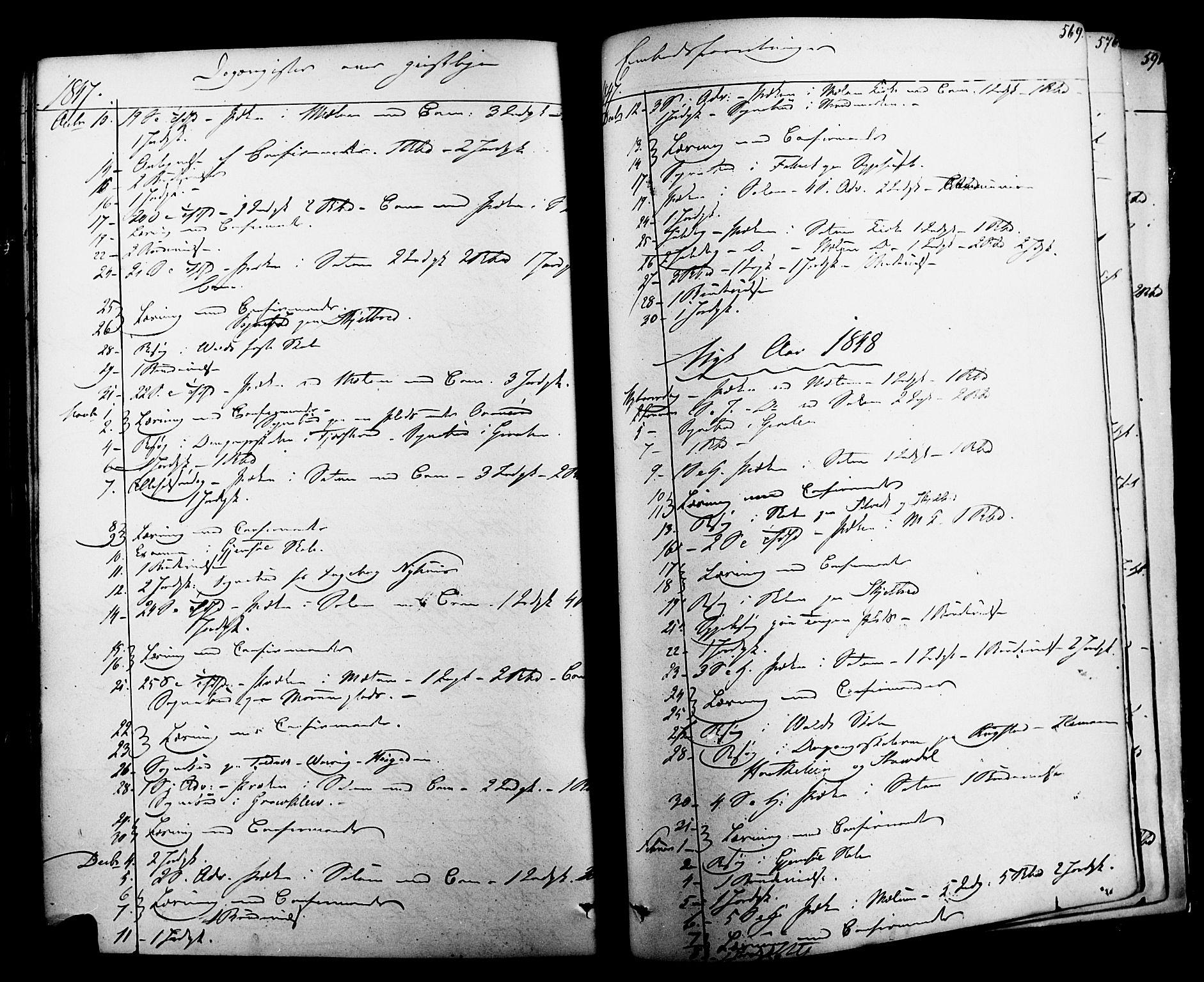 SAKO, Solum kirkebøker, F/Fa/L0006: Ministerialbok nr. I 6, 1844-1855, s. 569