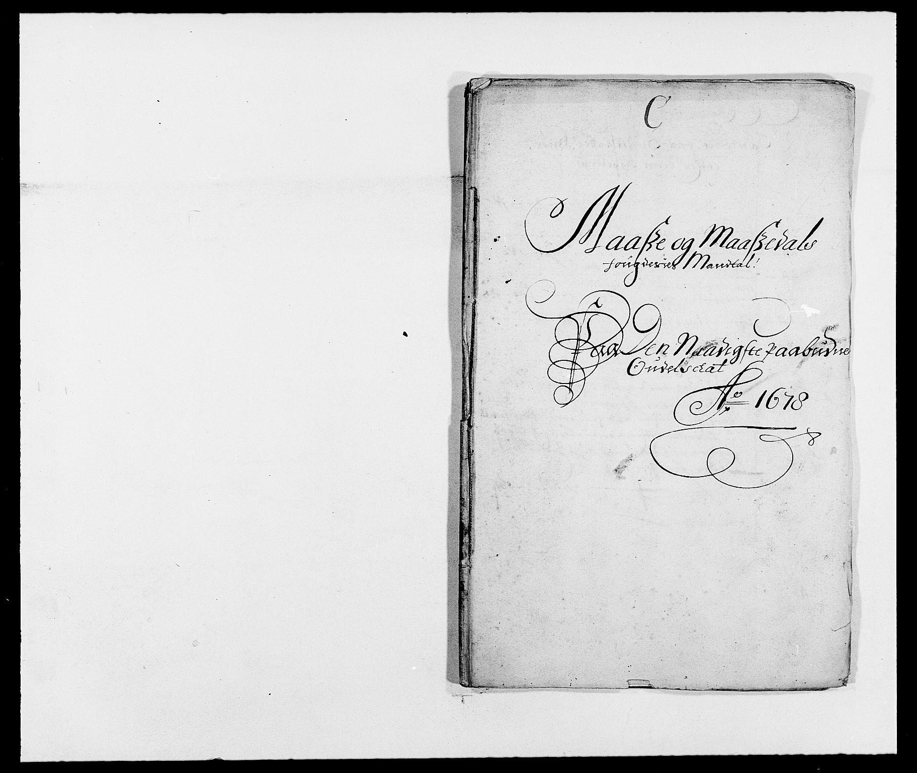 RA, Rentekammeret inntil 1814, Reviderte regnskaper, Fogderegnskap, R02/L0099: Fogderegnskap Moss og Verne kloster, 1678, s. 69