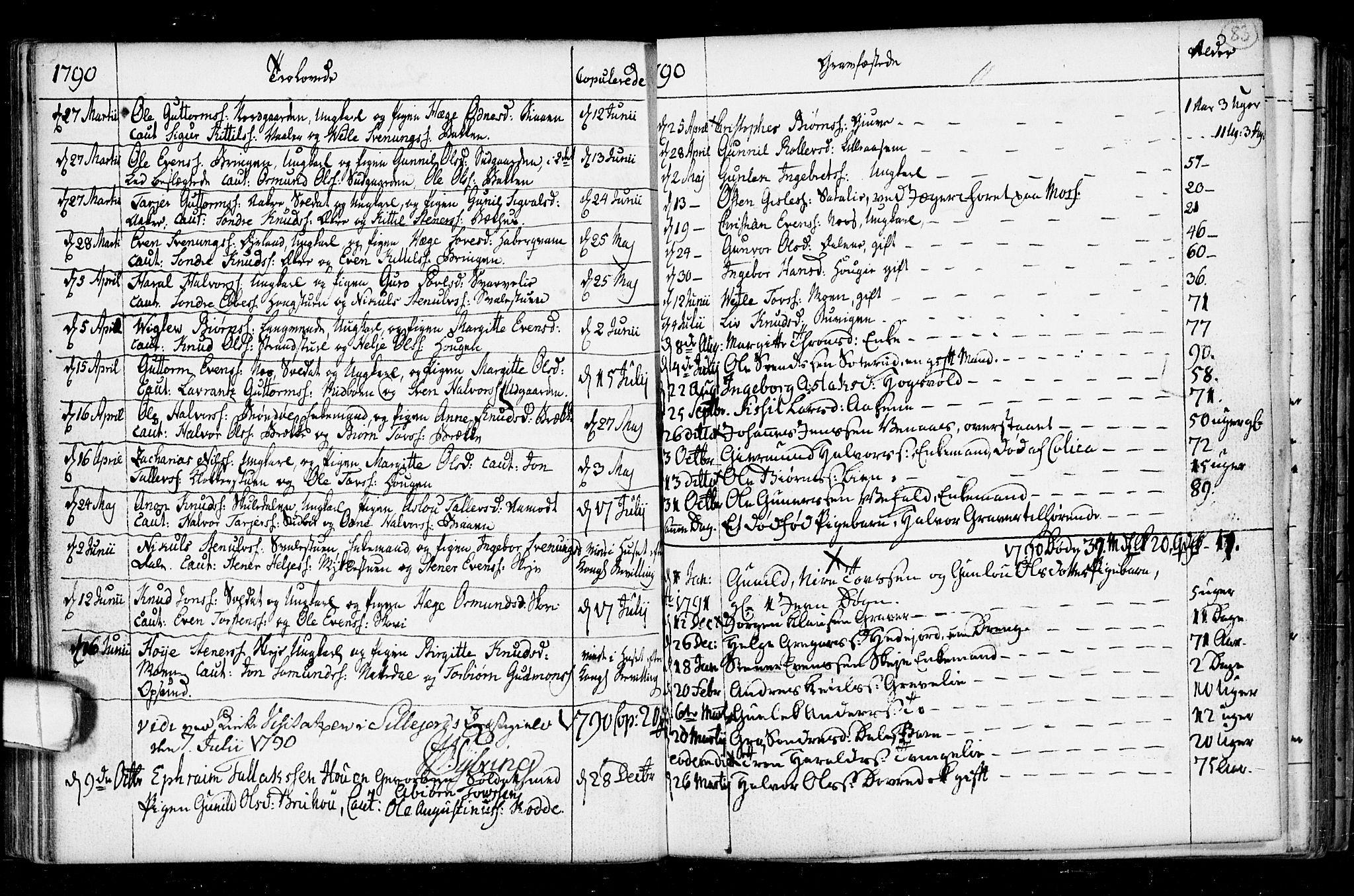 SAKO, Seljord kirkebøker, F/Fa/L0008: Ministerialbok nr. I 8, 1755-1814, s. 83