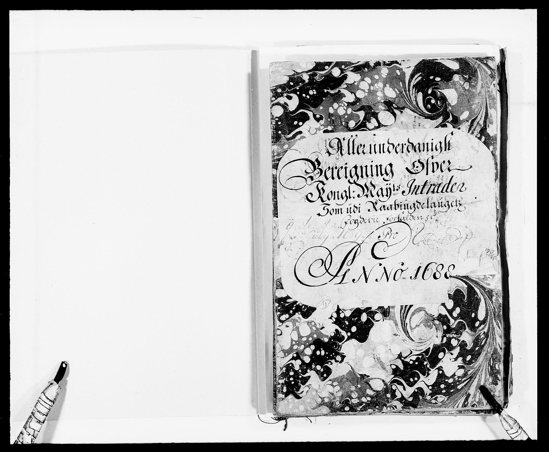 RA, Rentekammeret inntil 1814, Reviderte regnskaper, Fogderegnskap, R40/L2441: Fogderegnskap Råbyggelag, 1688, s. 2