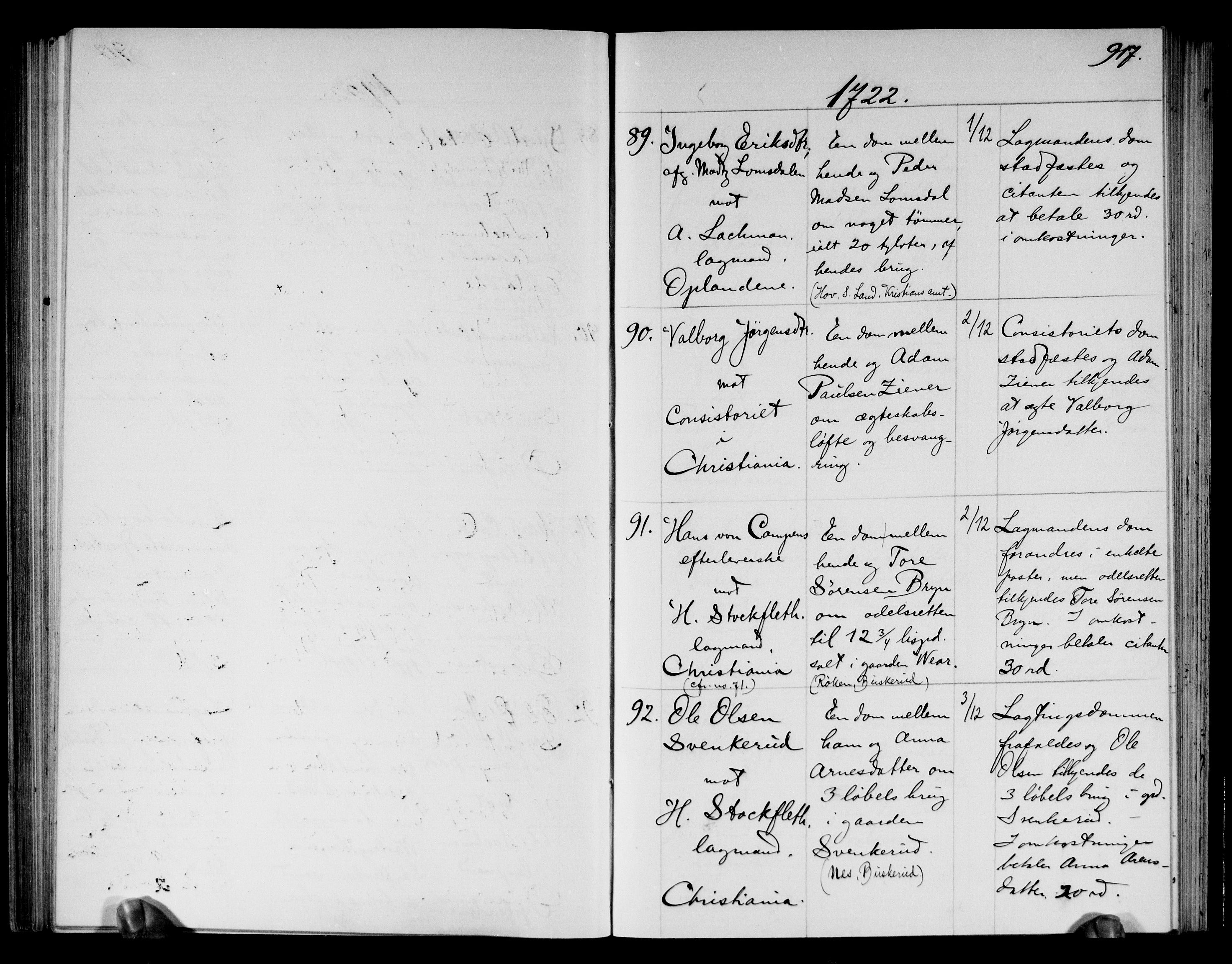 RA, Overhoffretten 1667-1797, 1719-1728, s. 917