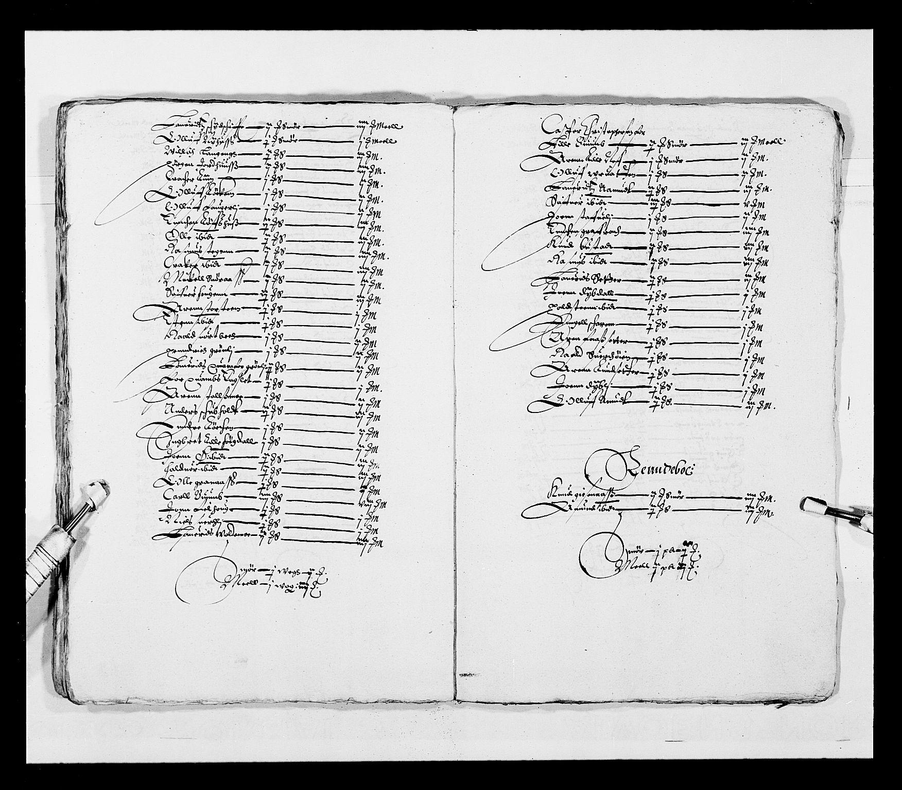 RA, Stattholderembetet 1572-1771, Ek/L0028: Jordebøker 1633-1658:, 1645-1646, s. 190